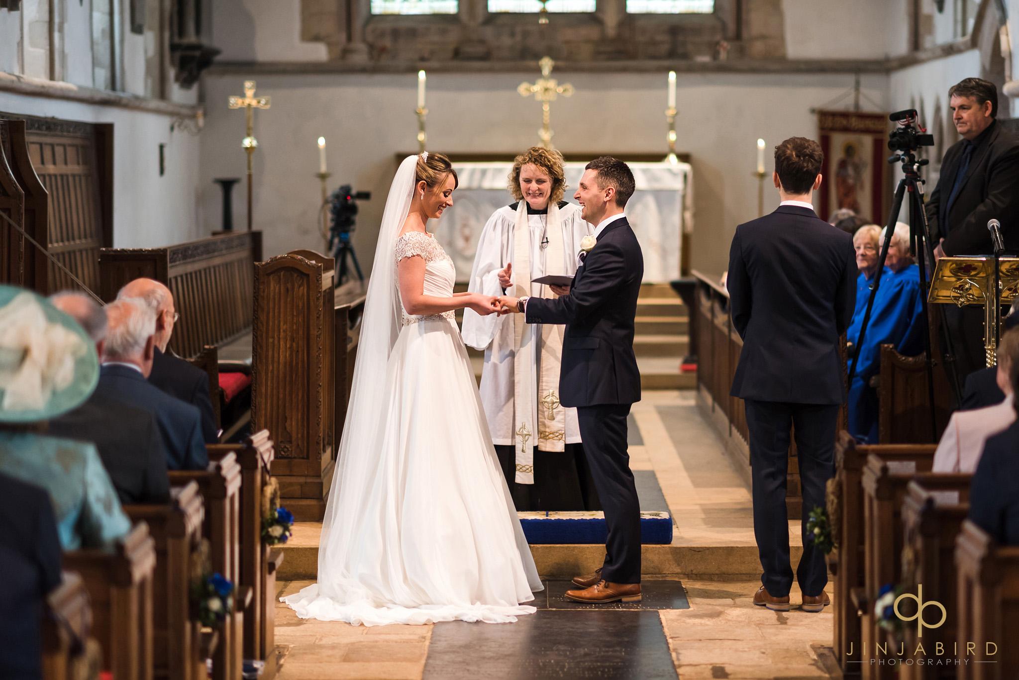 wedding service somersham church