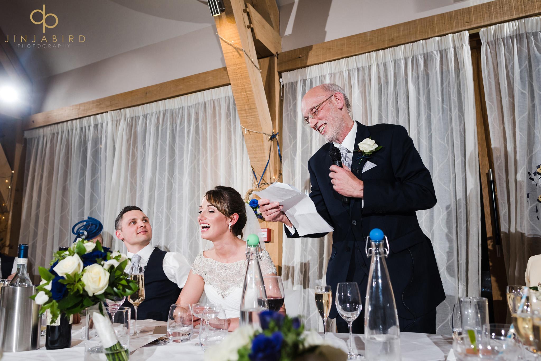 wedding speeches bassmead manor
