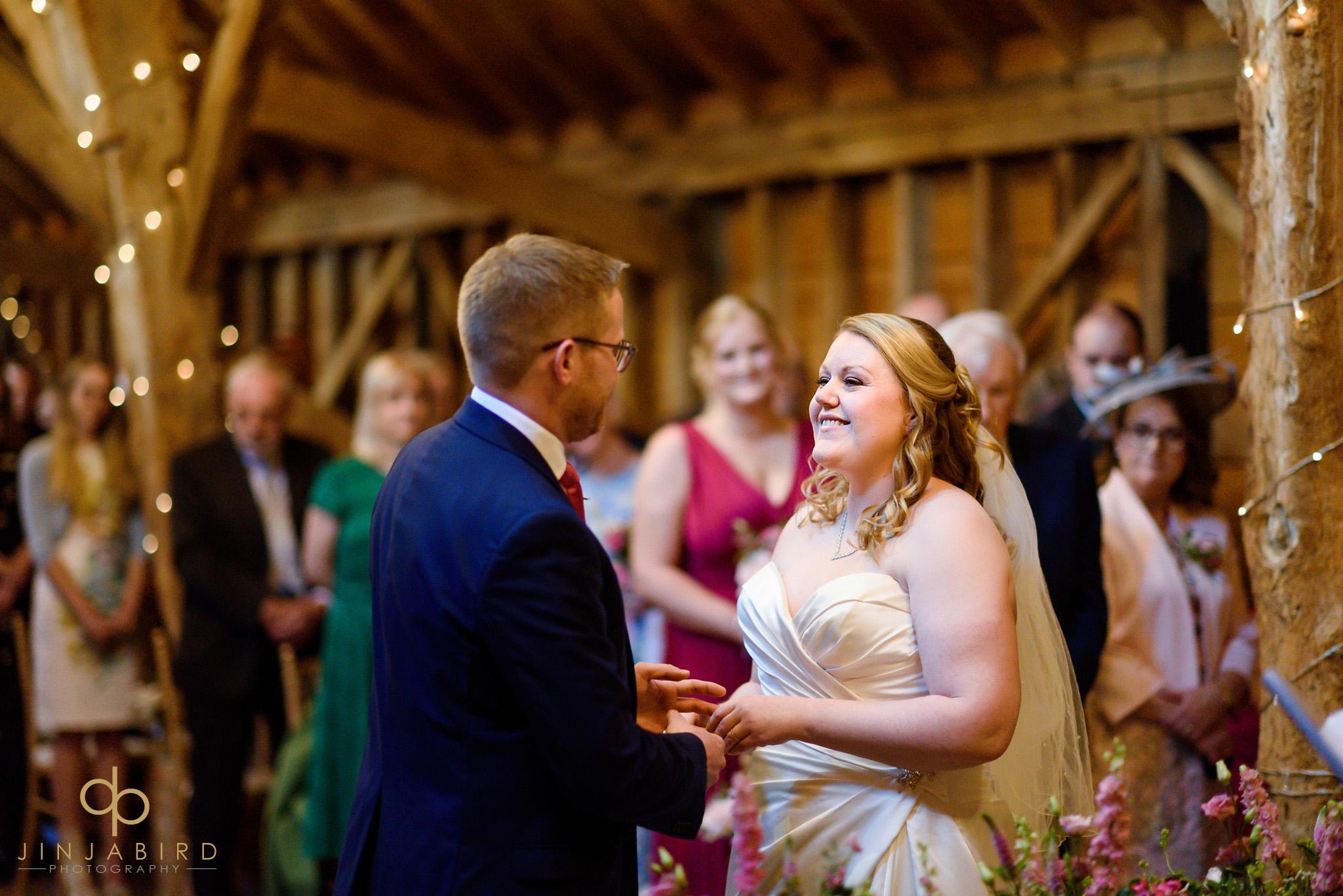 bassmead manor wedding ceremony