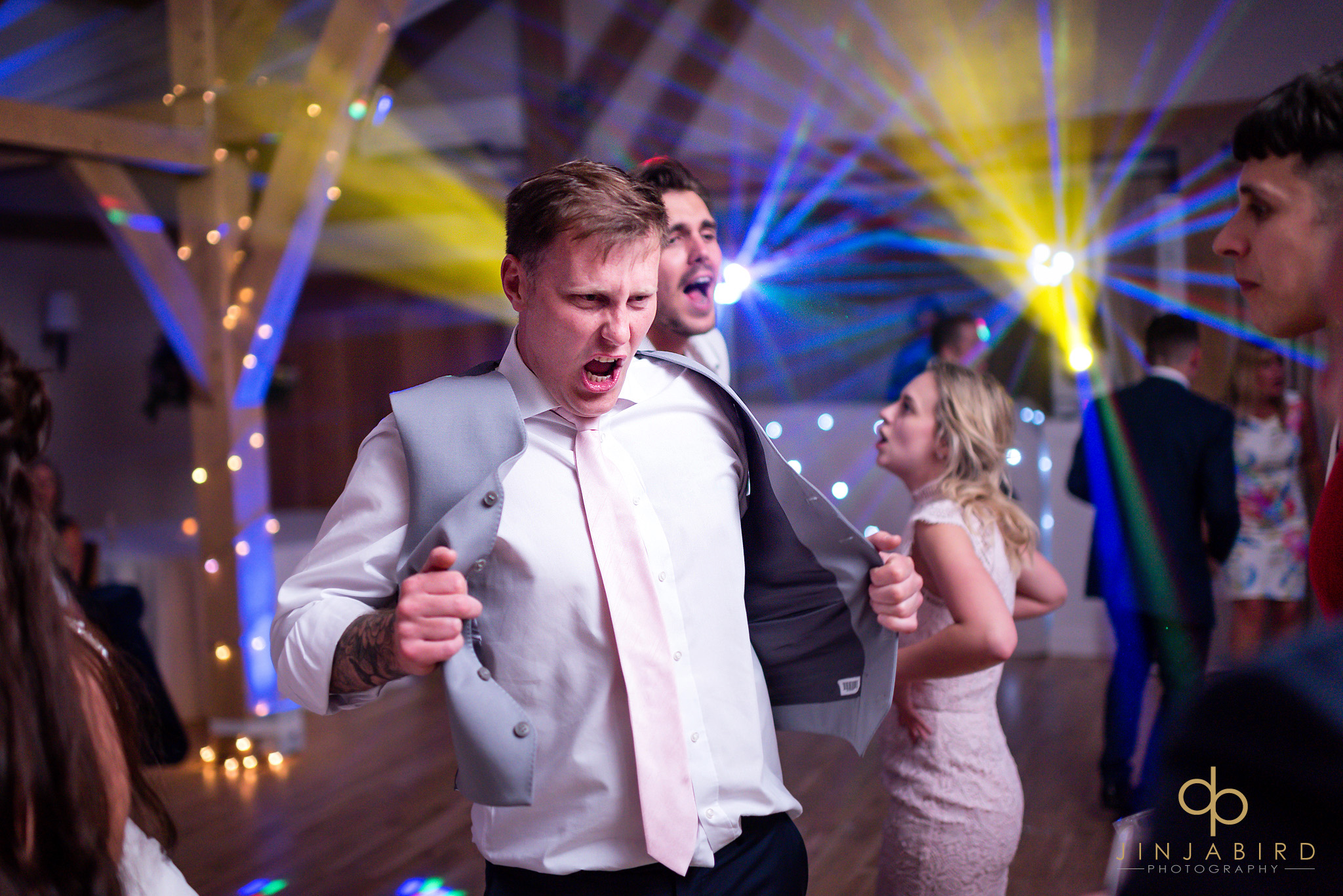 best man dancing