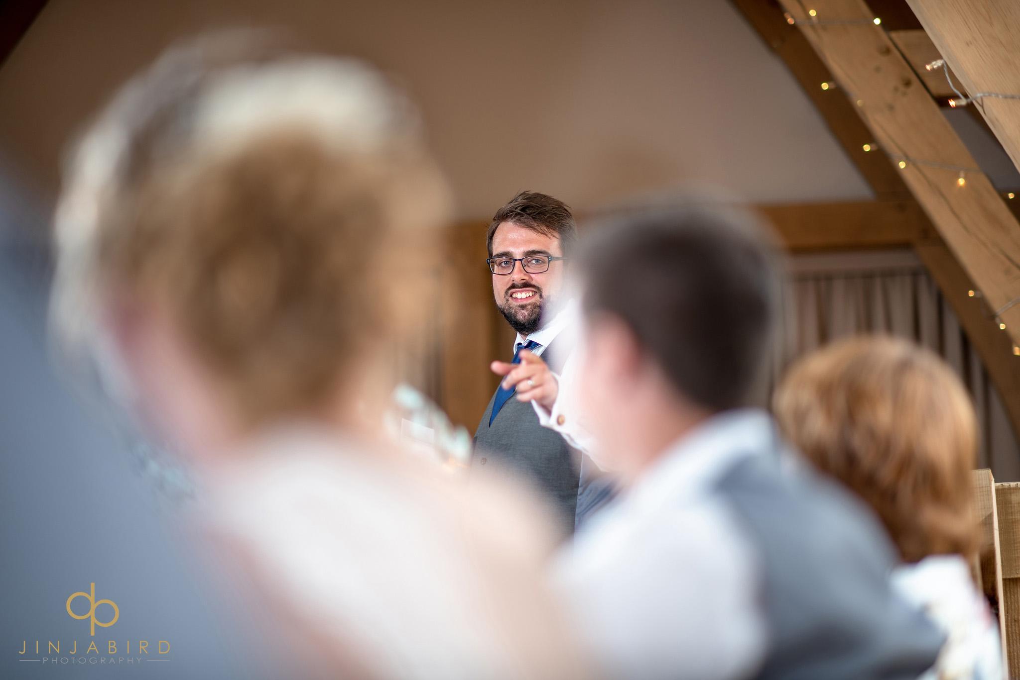 bestman making speech
