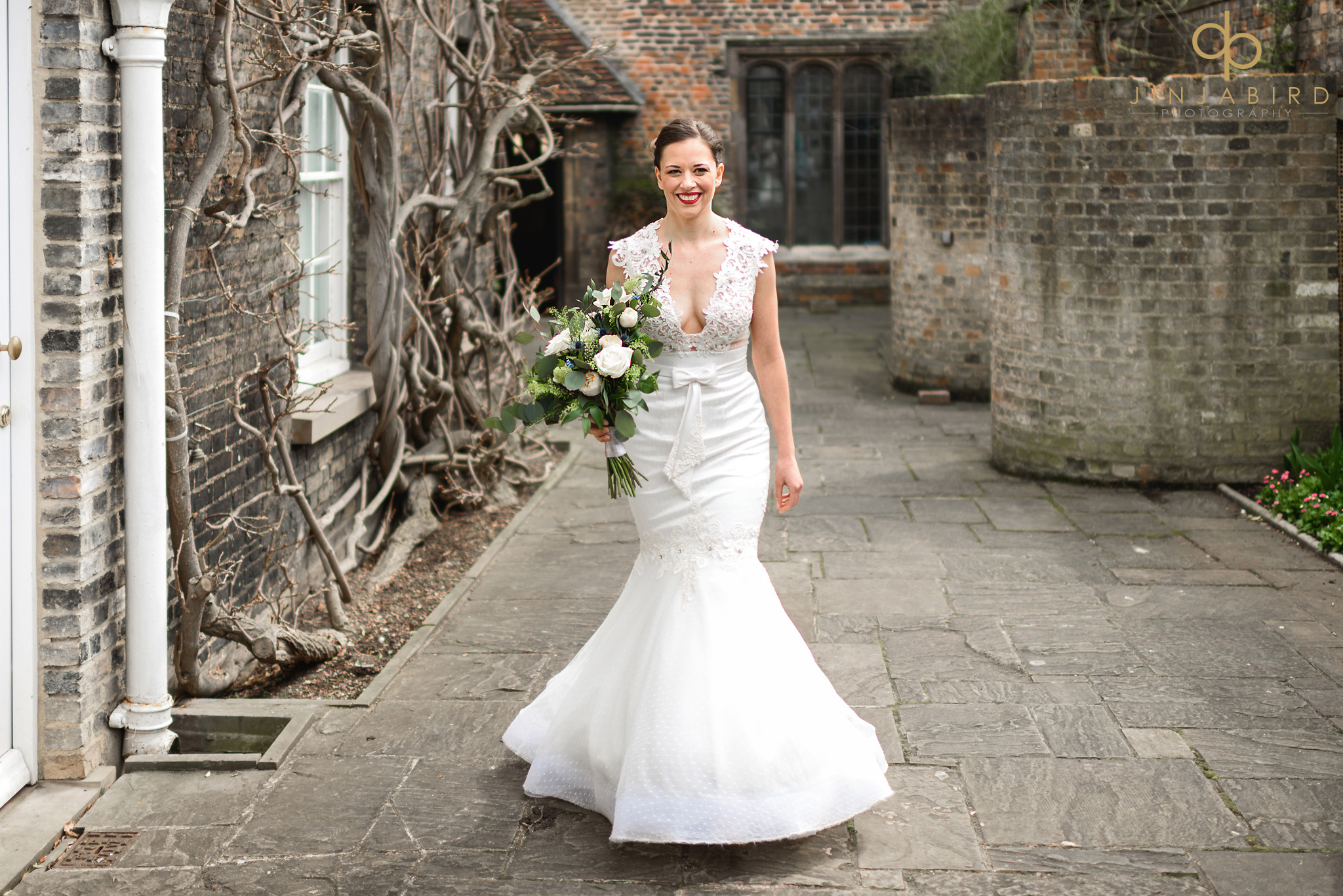bride at magdalene college cambridge
