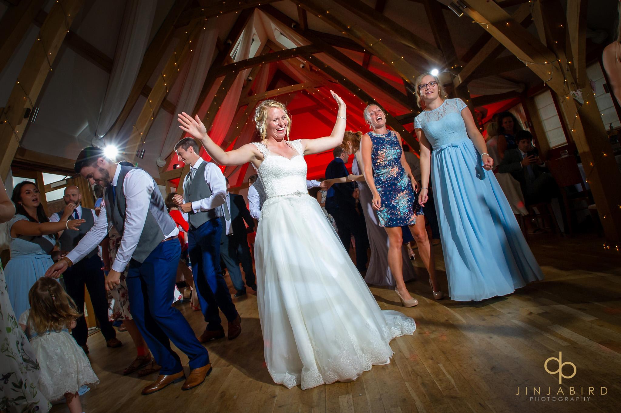 bride dancing bassmead