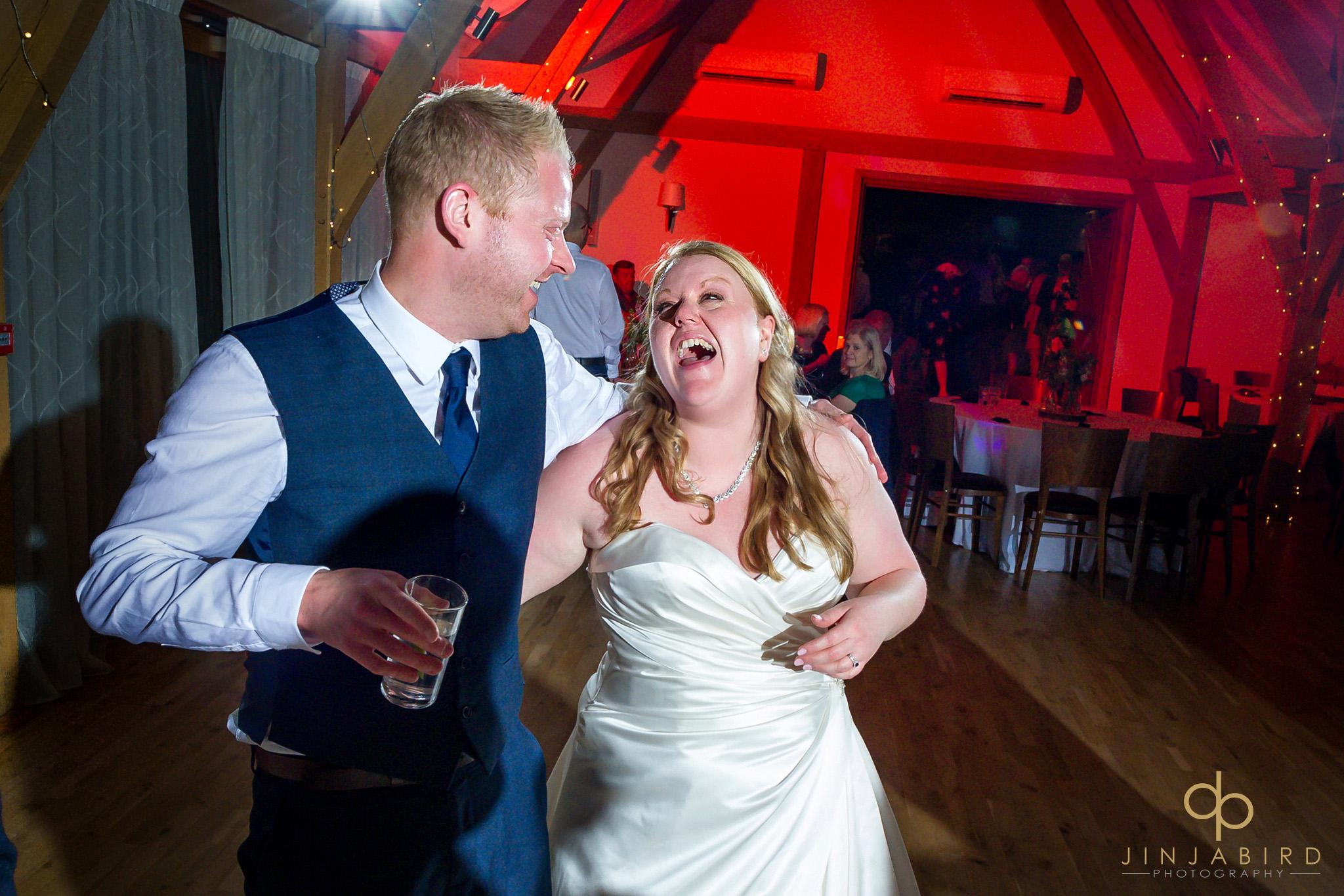 bride dancing with best man
