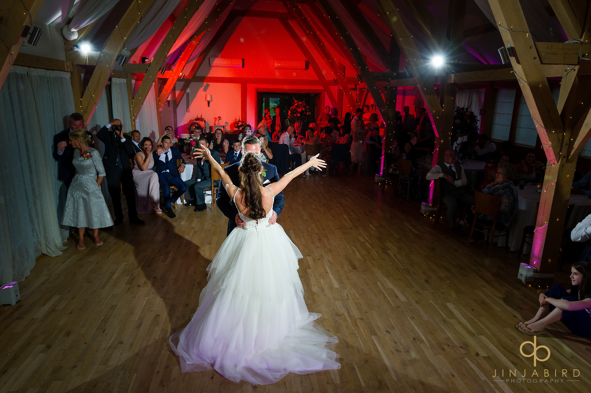bride dancing with groom