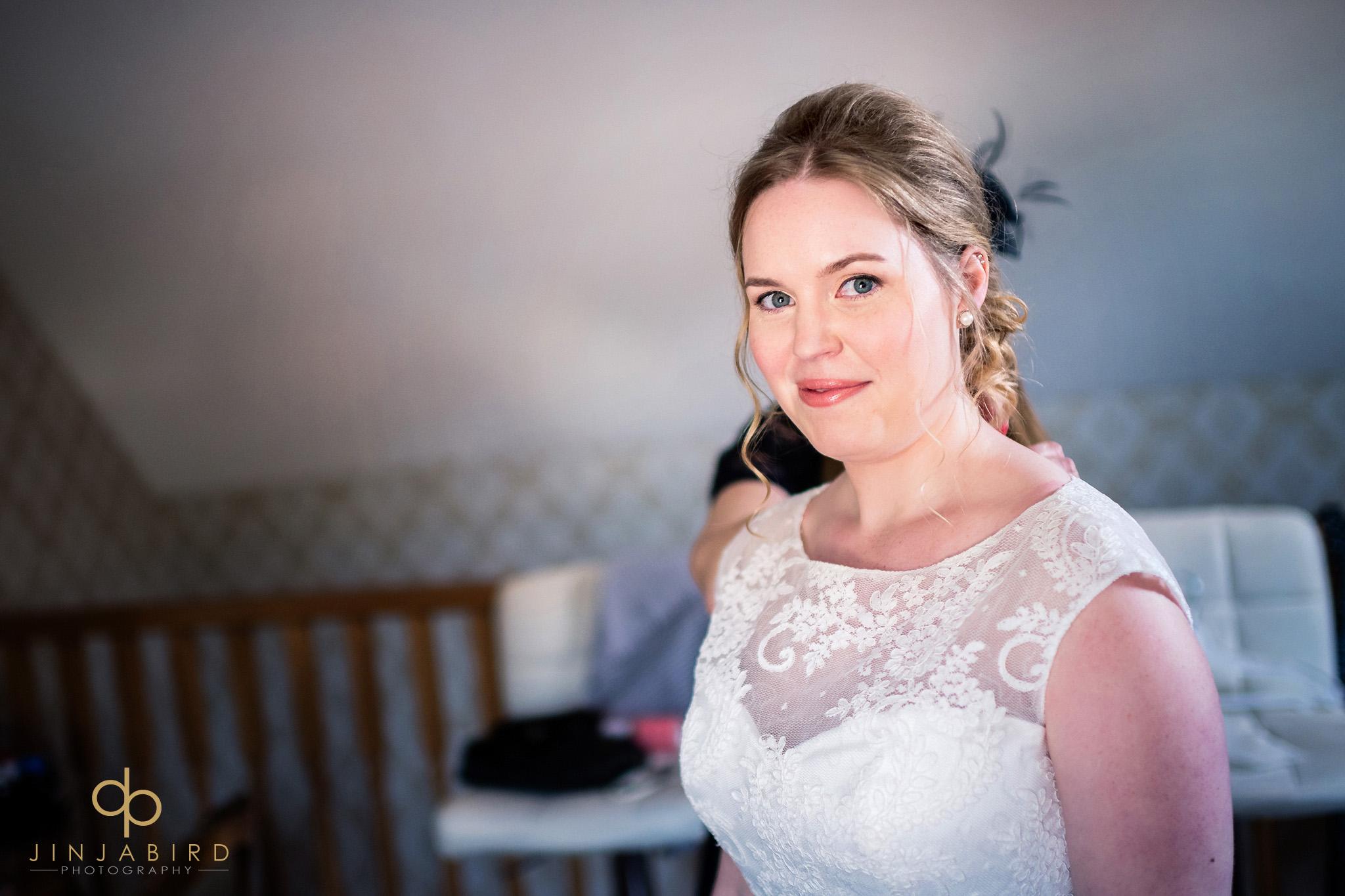 bride in boudoir bassmead manor