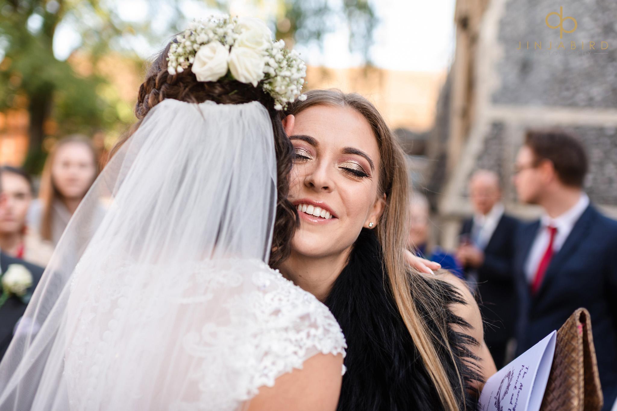 bride kissing quest
