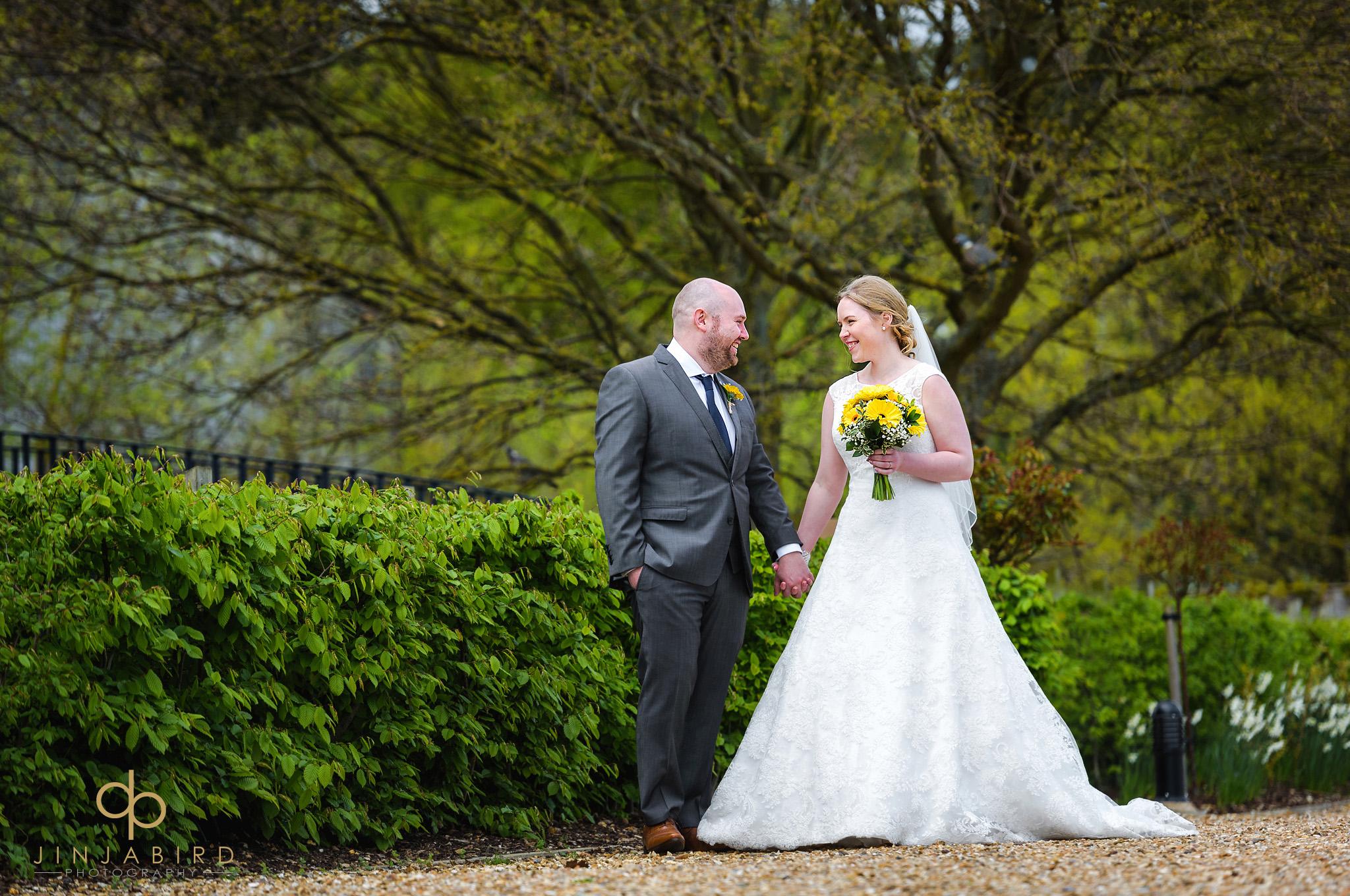 bride with groom bassmead
