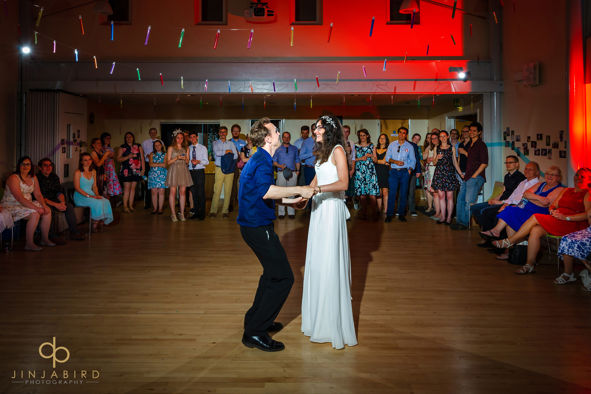 bride with groom dancing to ceili