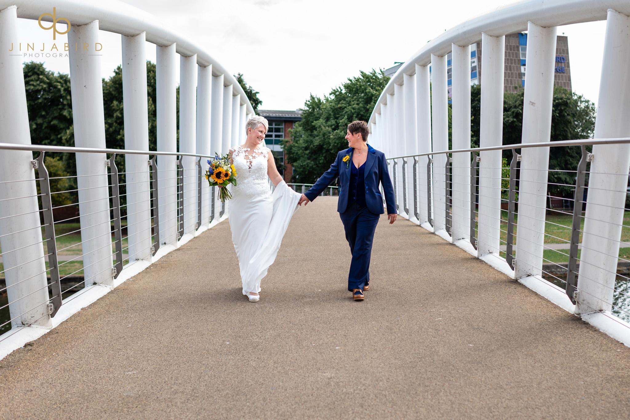 brides on bridge bedford