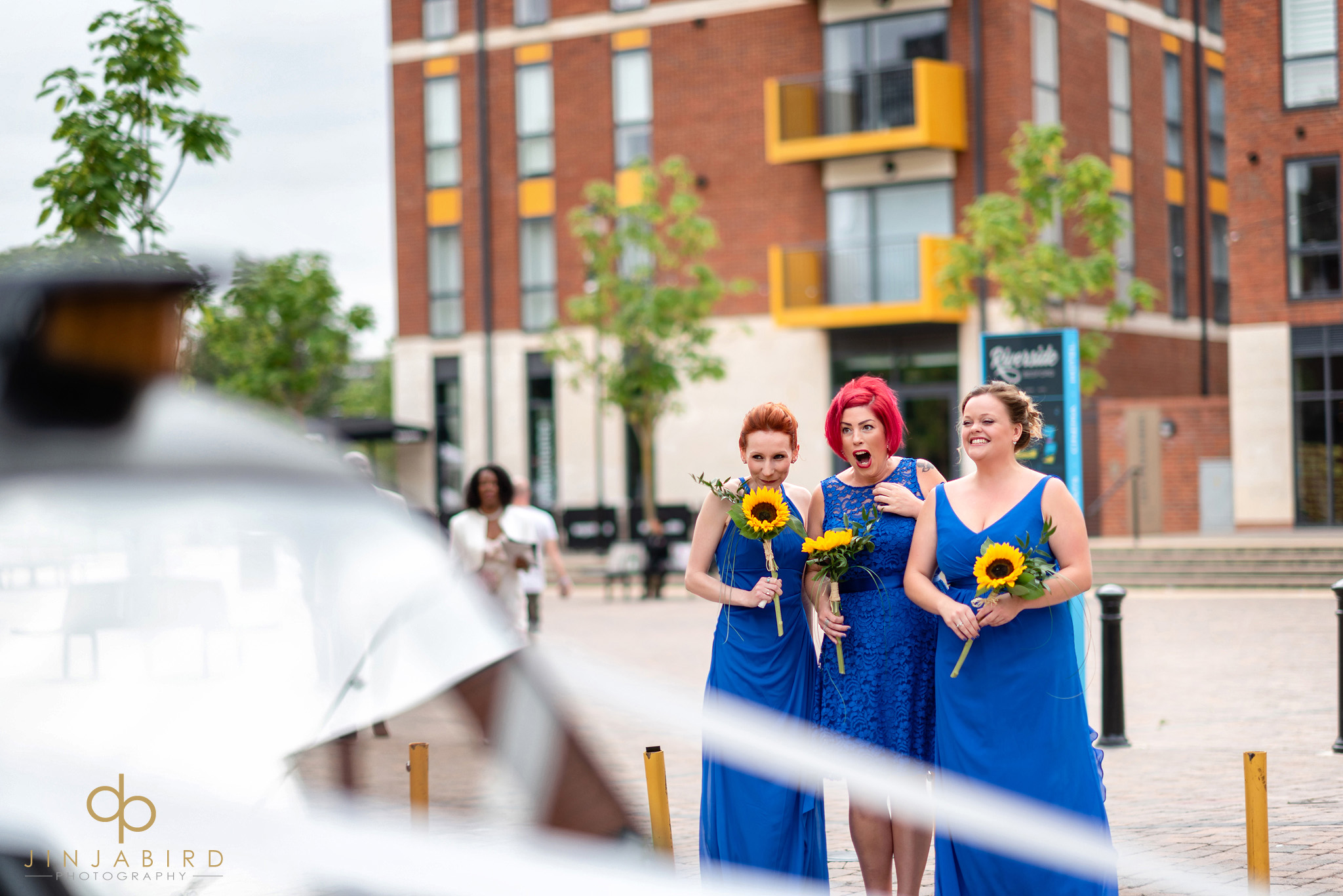 bridesmaids in bedford