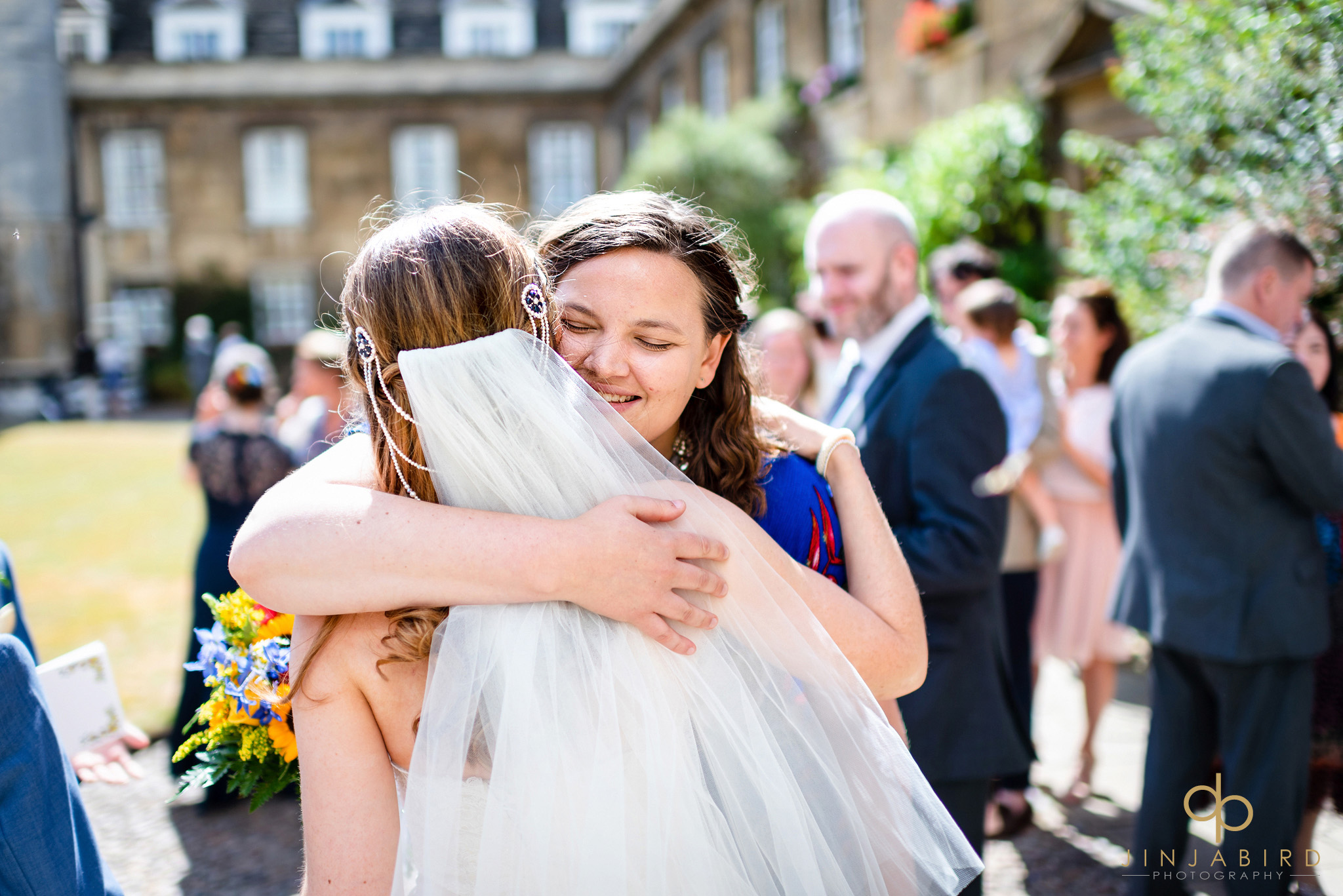 christs college cambridge weddng photos