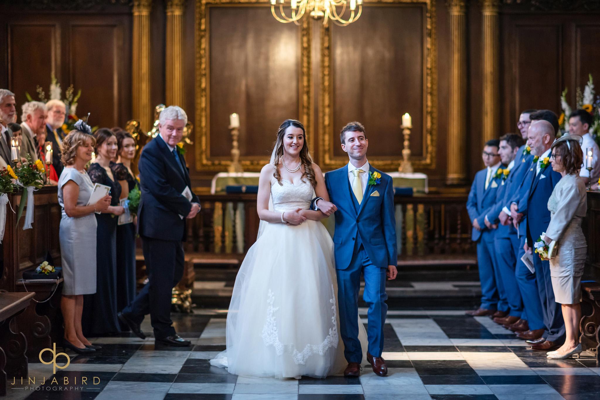 documentary wedding photographer christs college cambridge