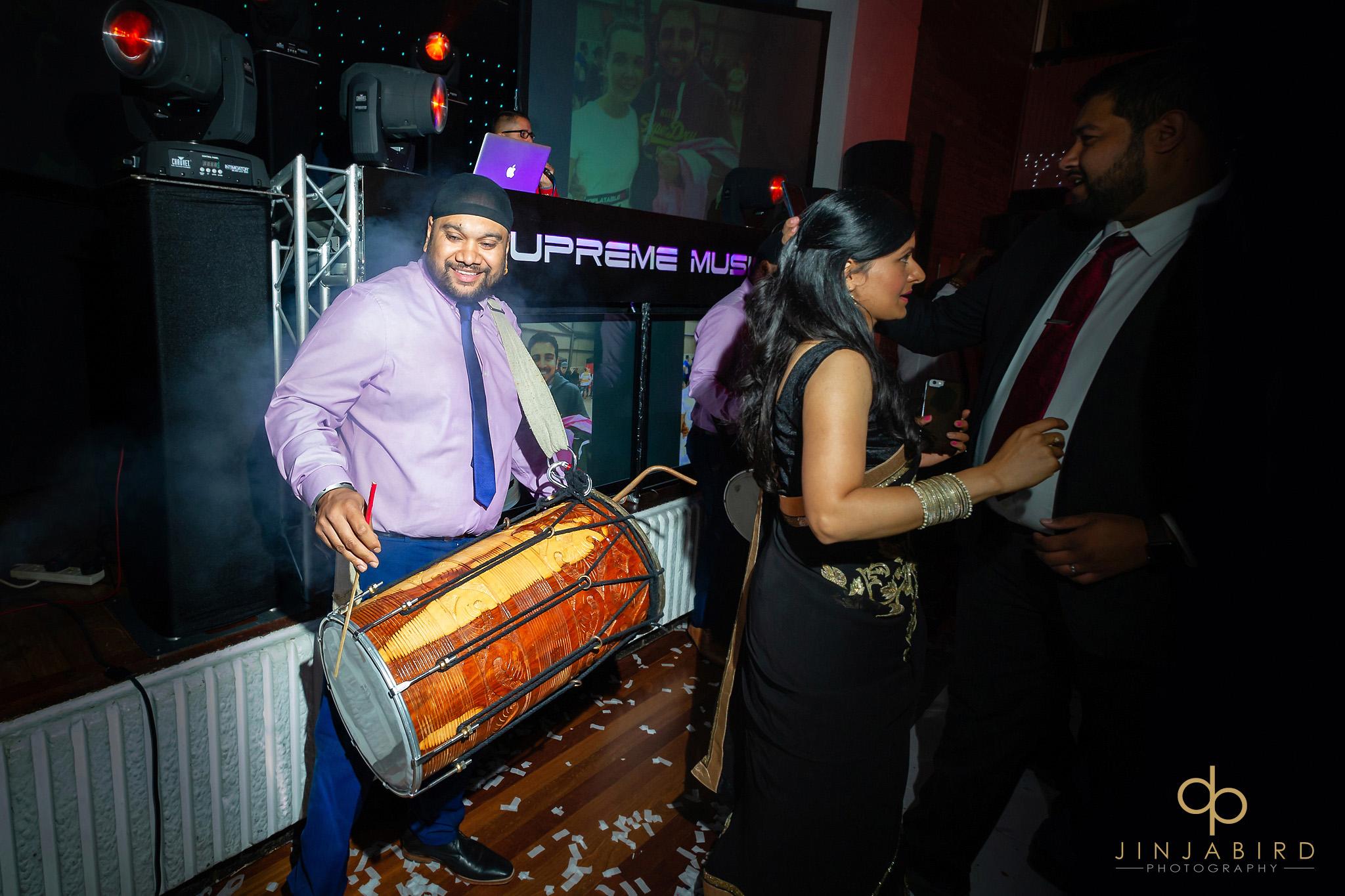 drummers sikh wedding