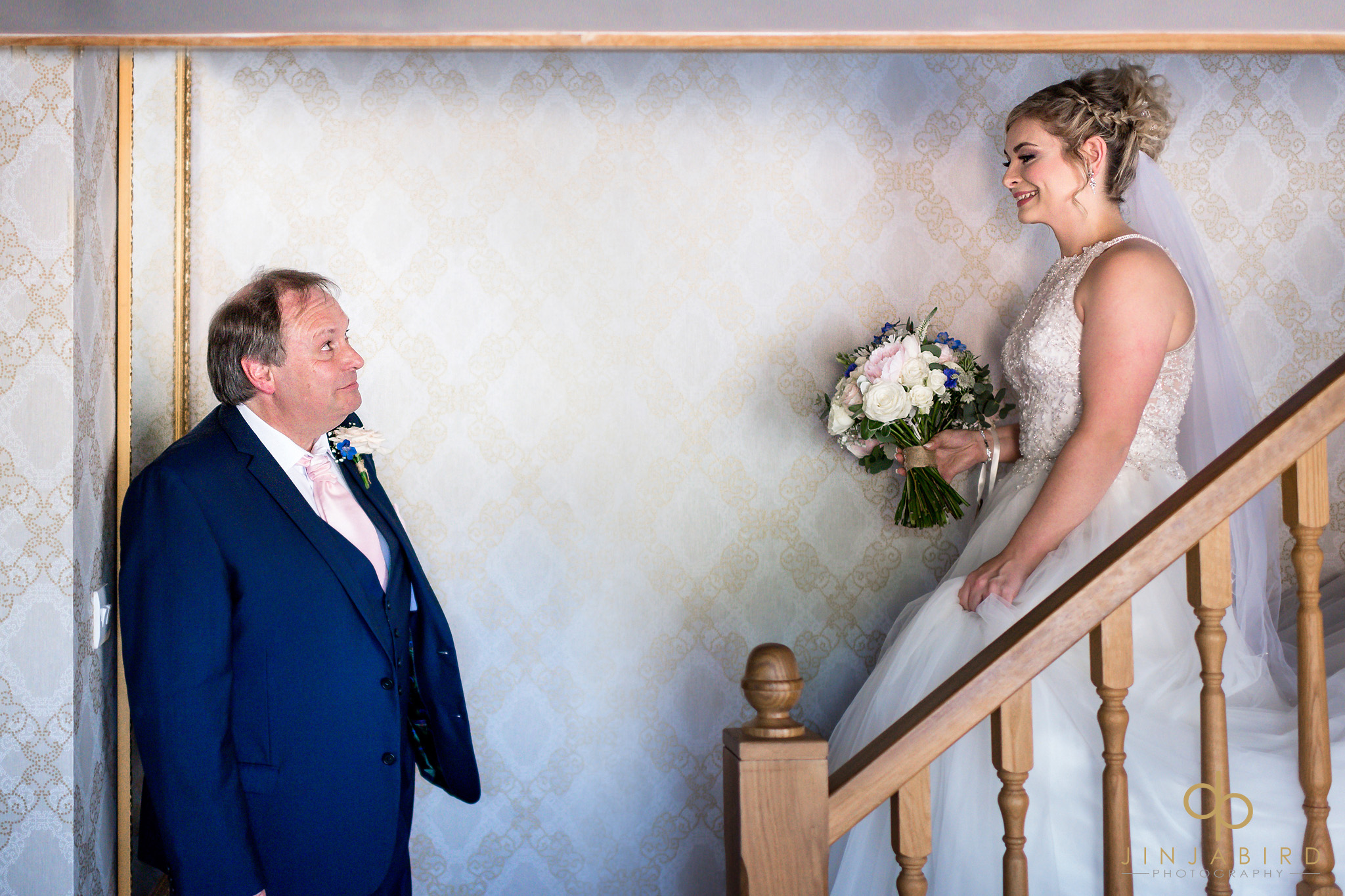 father first look bride bassmead manor