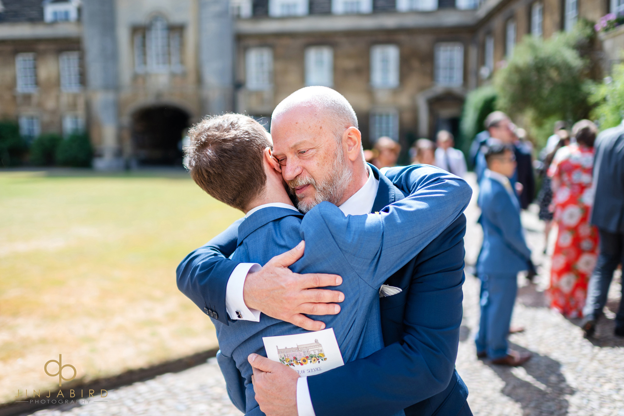 father of groom christs college cambridge
