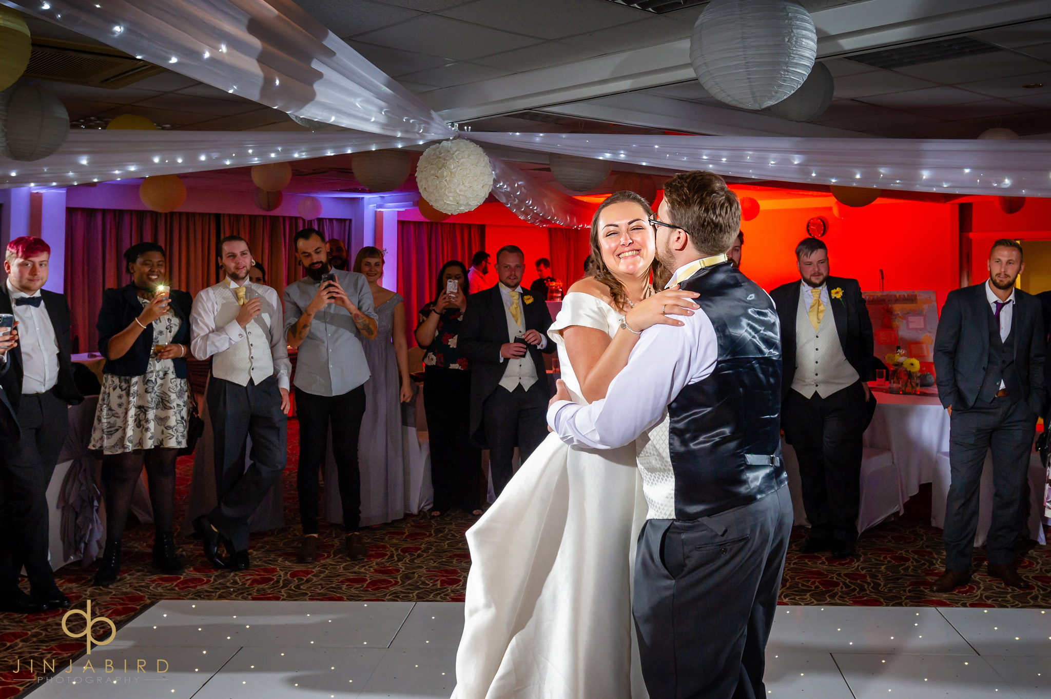 first dance at wedding hellidon lakes