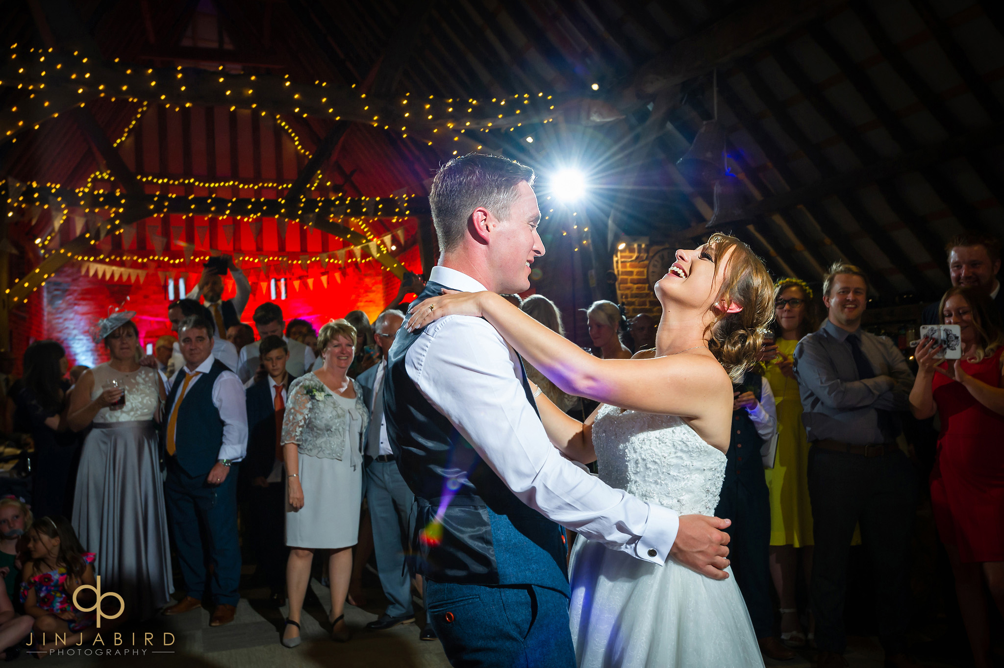 first dance thatch barn yelling