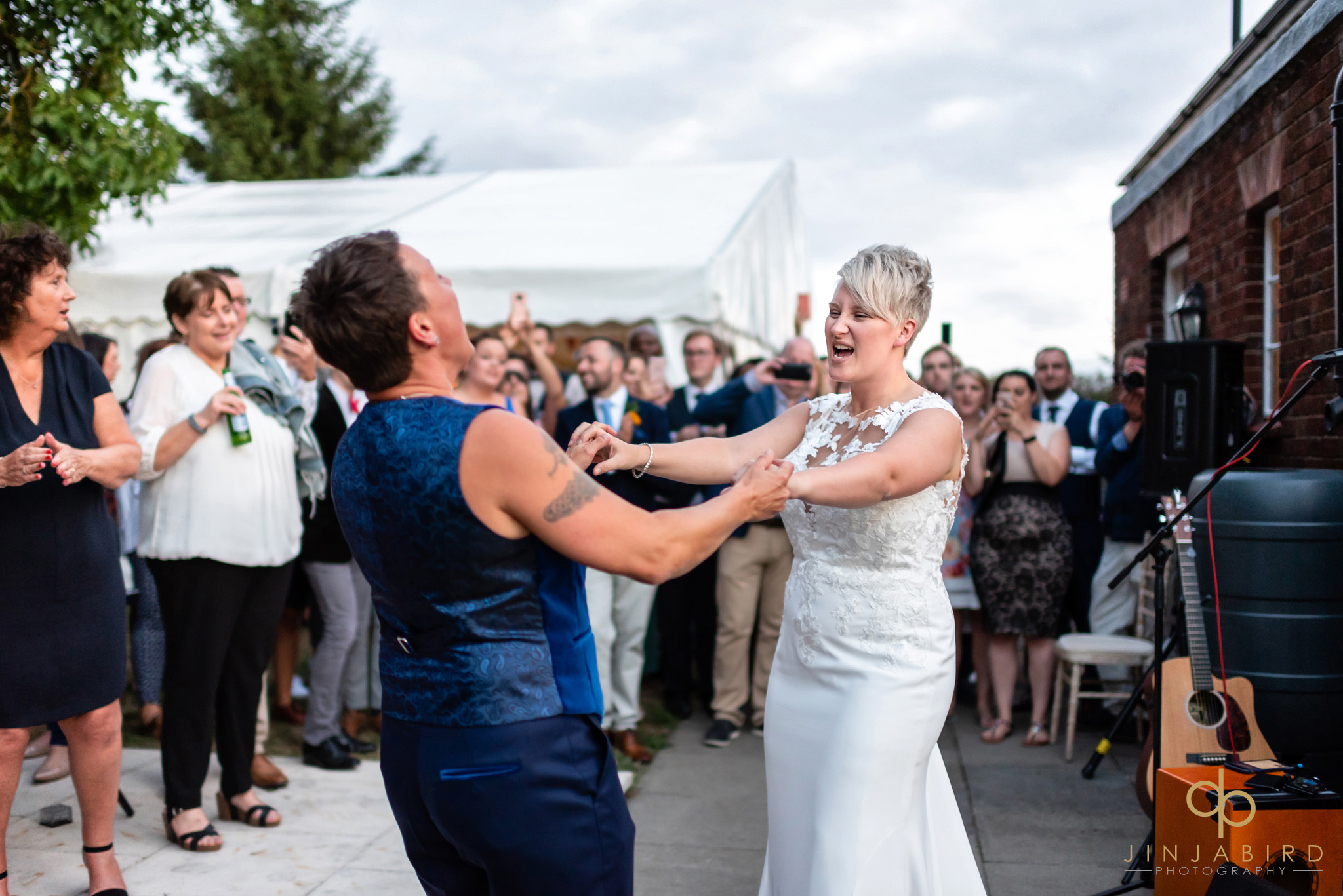 gay brides first dance bedford