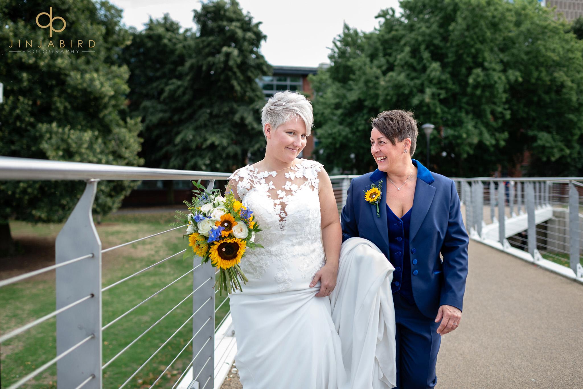 gay brides in bedford