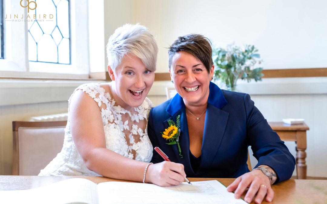 Same sex weddings Bedfordfordshire