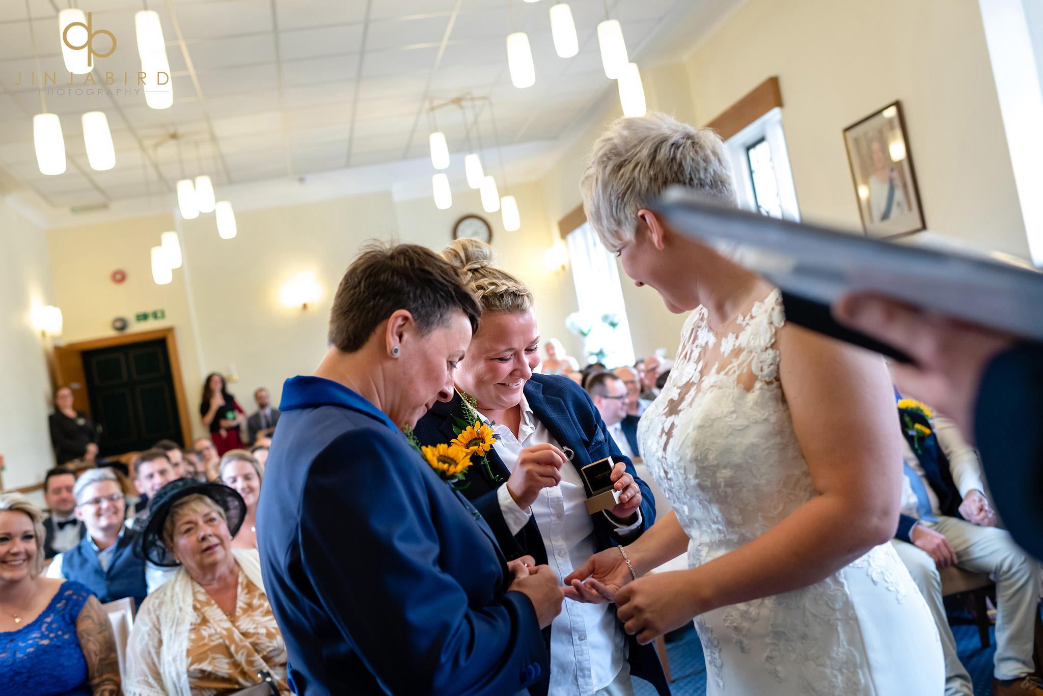 gay wedding ceremony bedfordshire