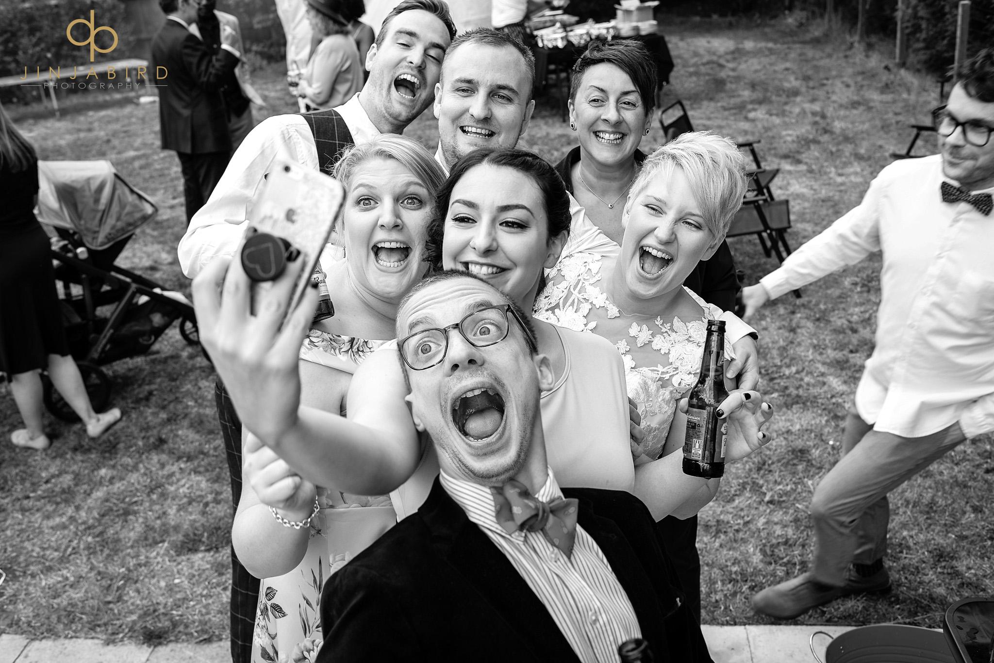 gay wedding guests