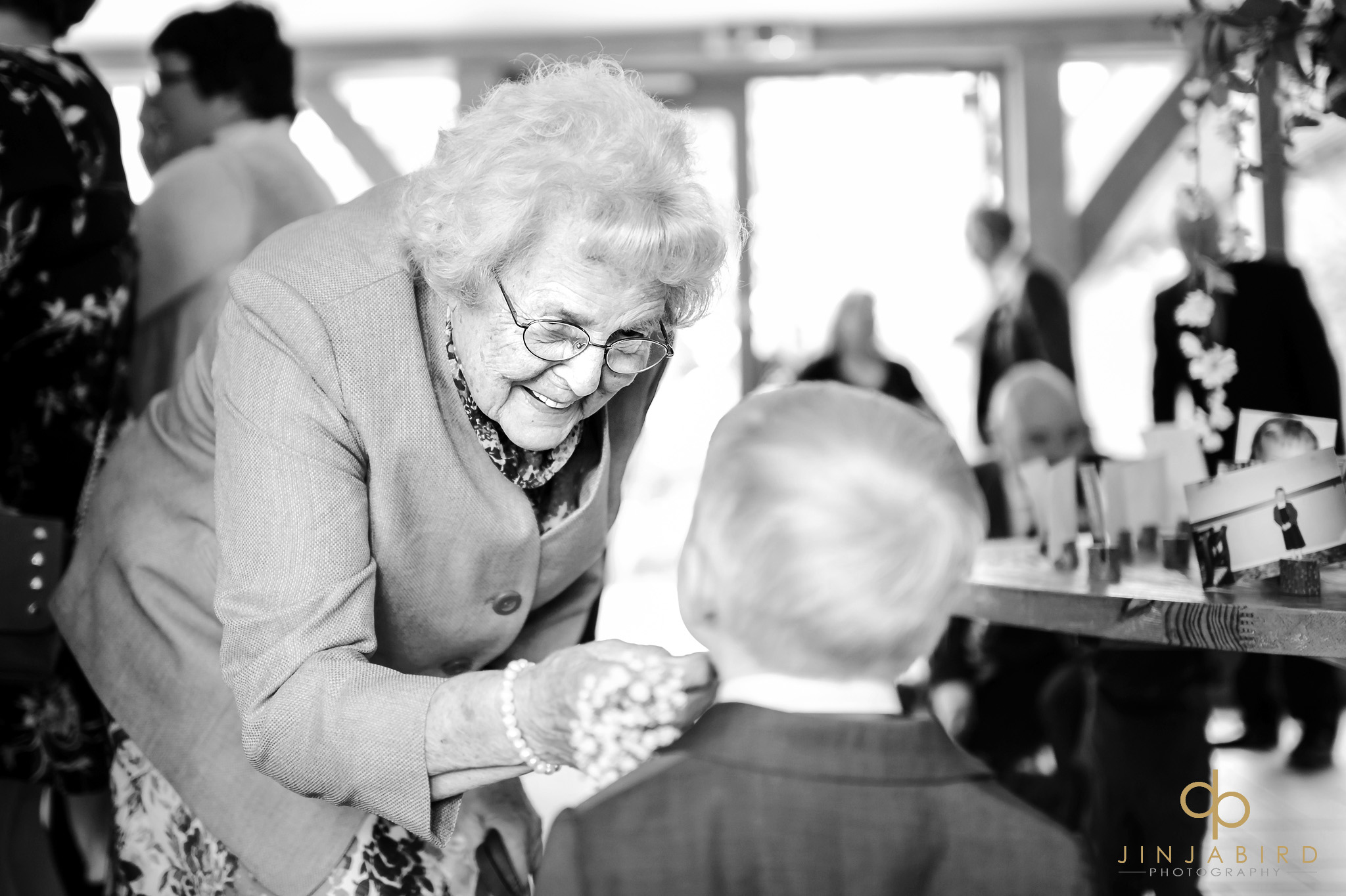 grandmother with pageboy