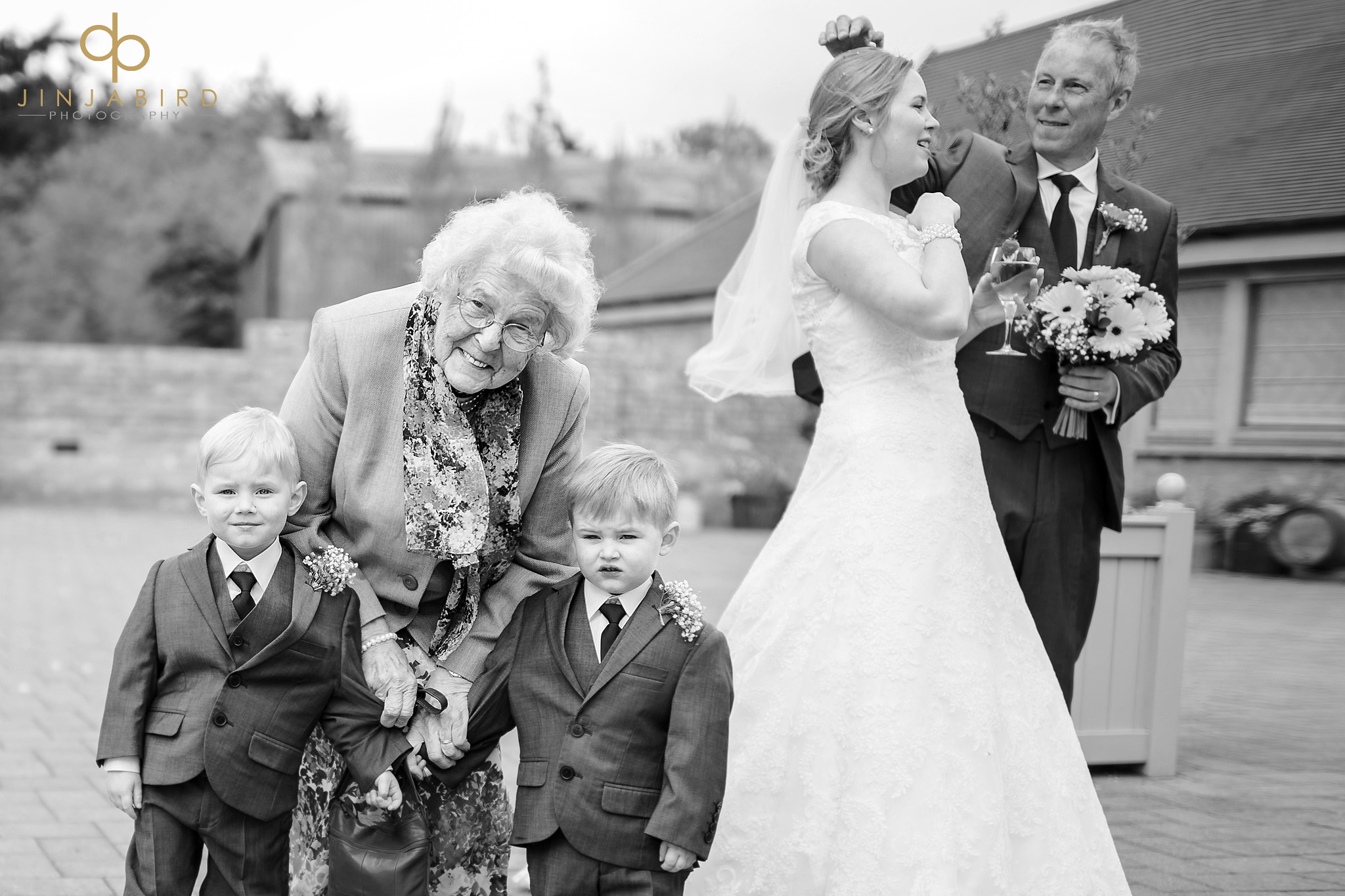 grandmother with pageboys