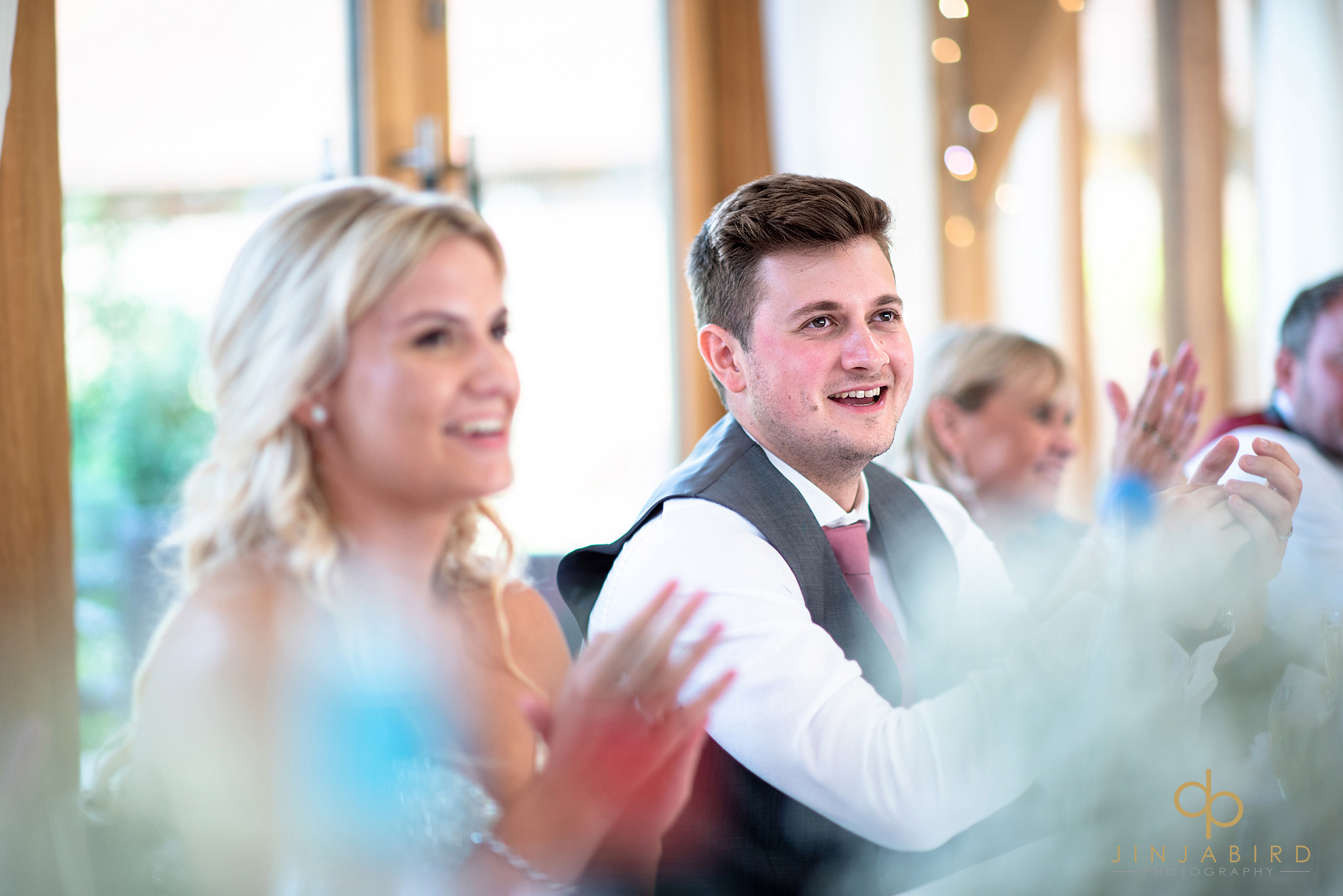 groom clapping speech