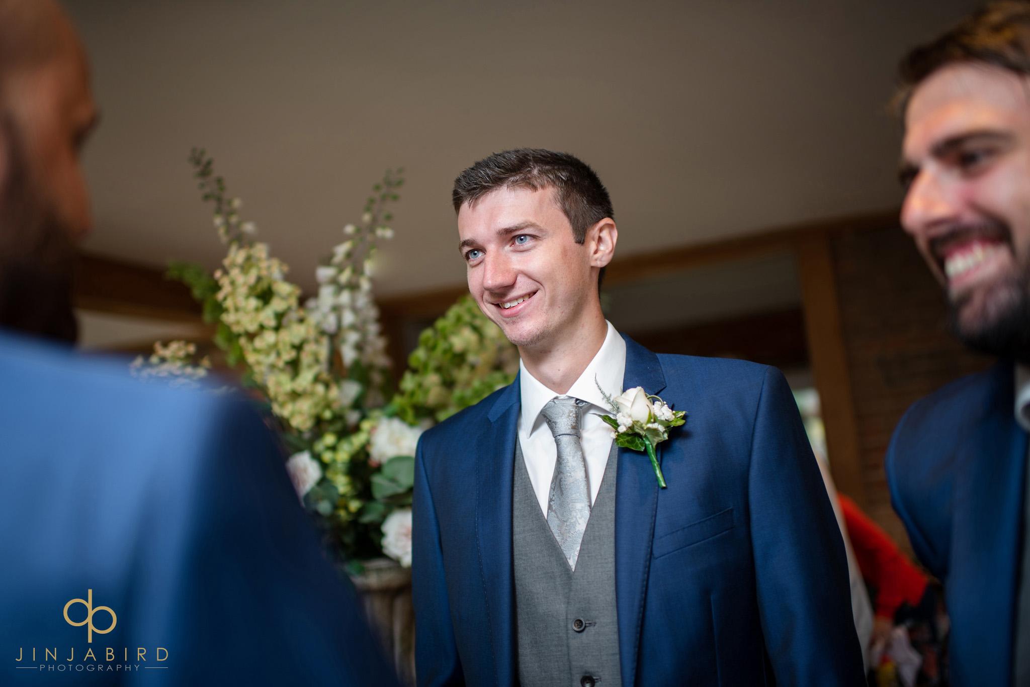 groom in bar bassmead