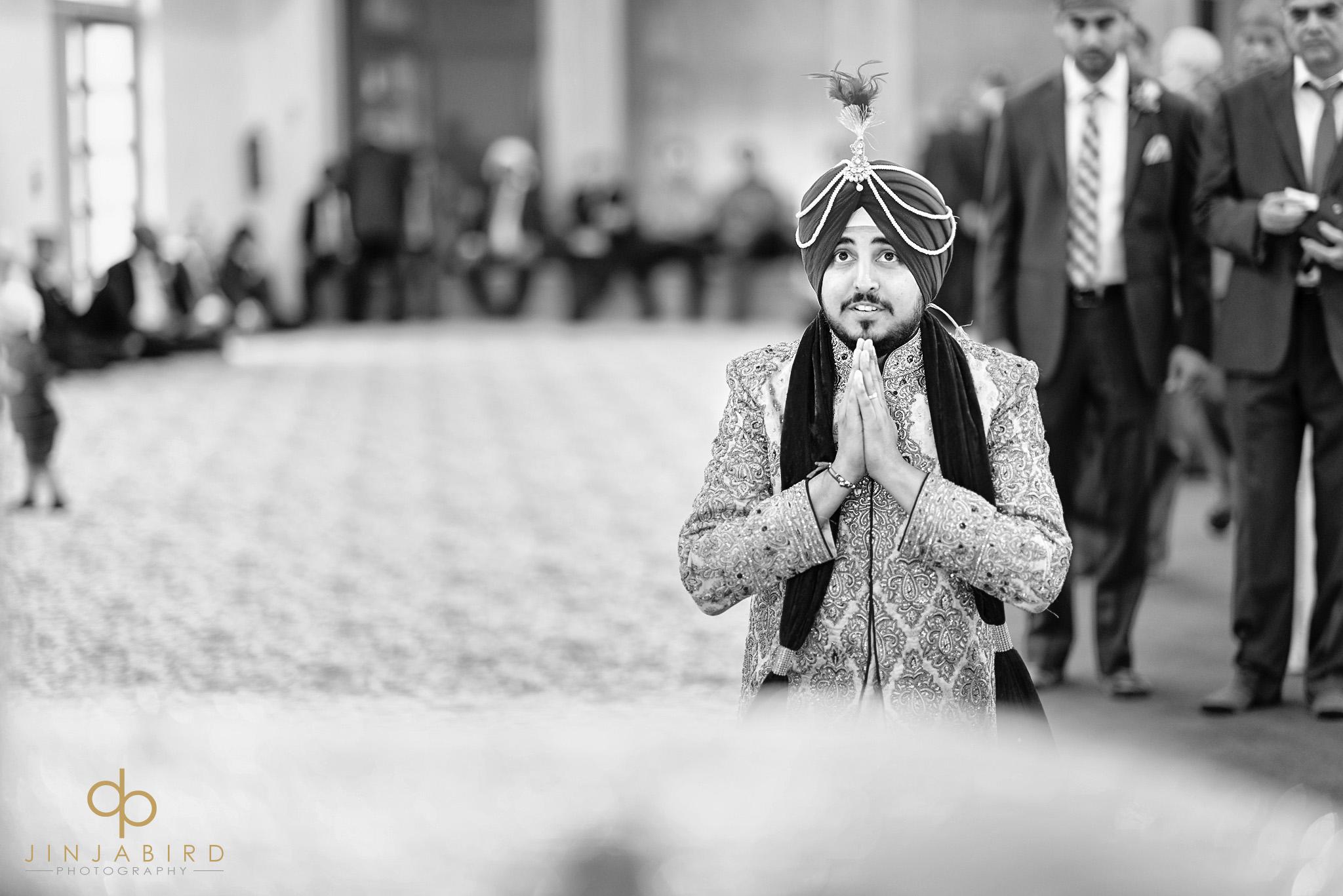 groom in bedford gurdwara