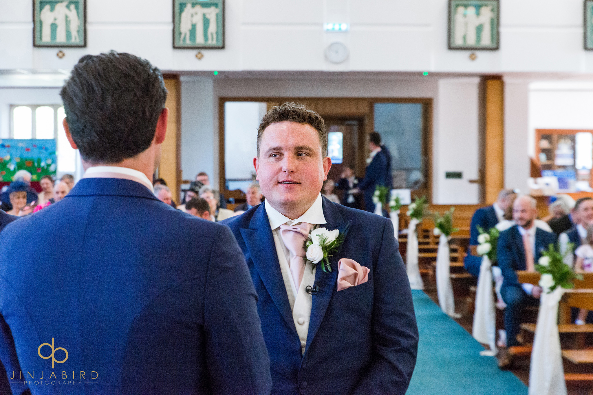 groom at st-josephs church gerrards cross