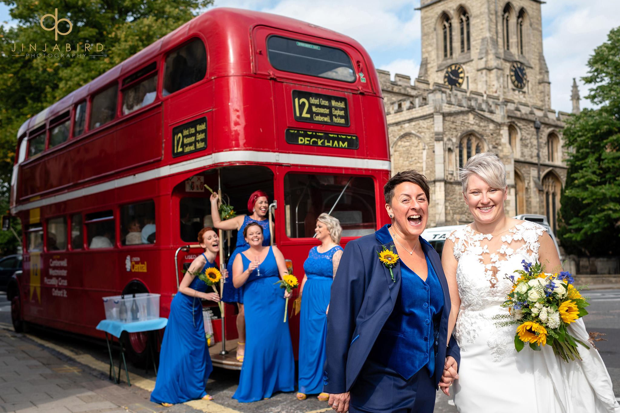 routemaster wedding bus bedford