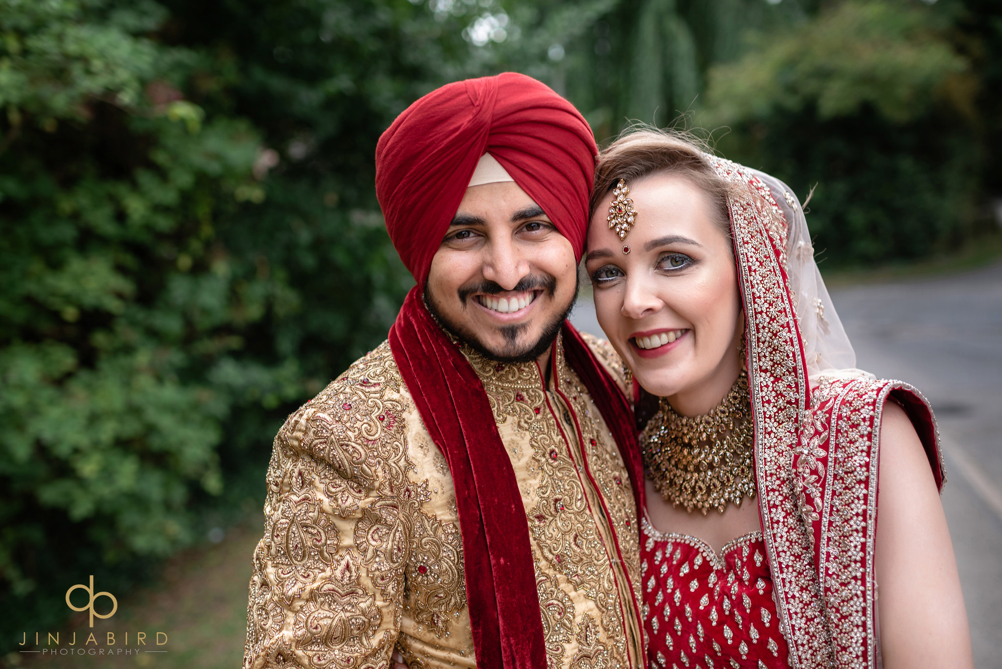 sikh bride with groom