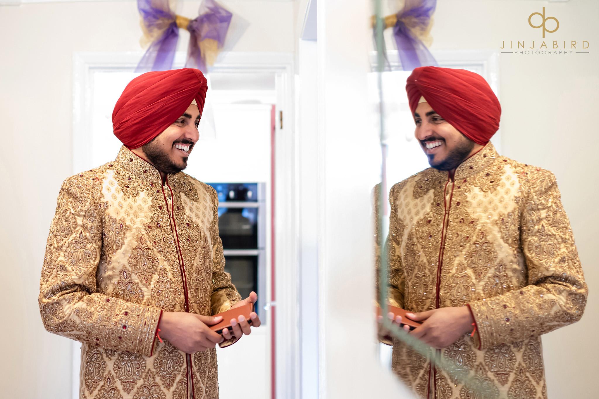 sikh groom bedford