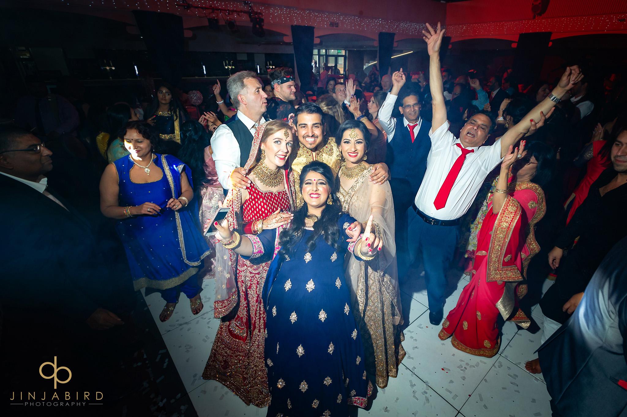 sikh wedding dancing