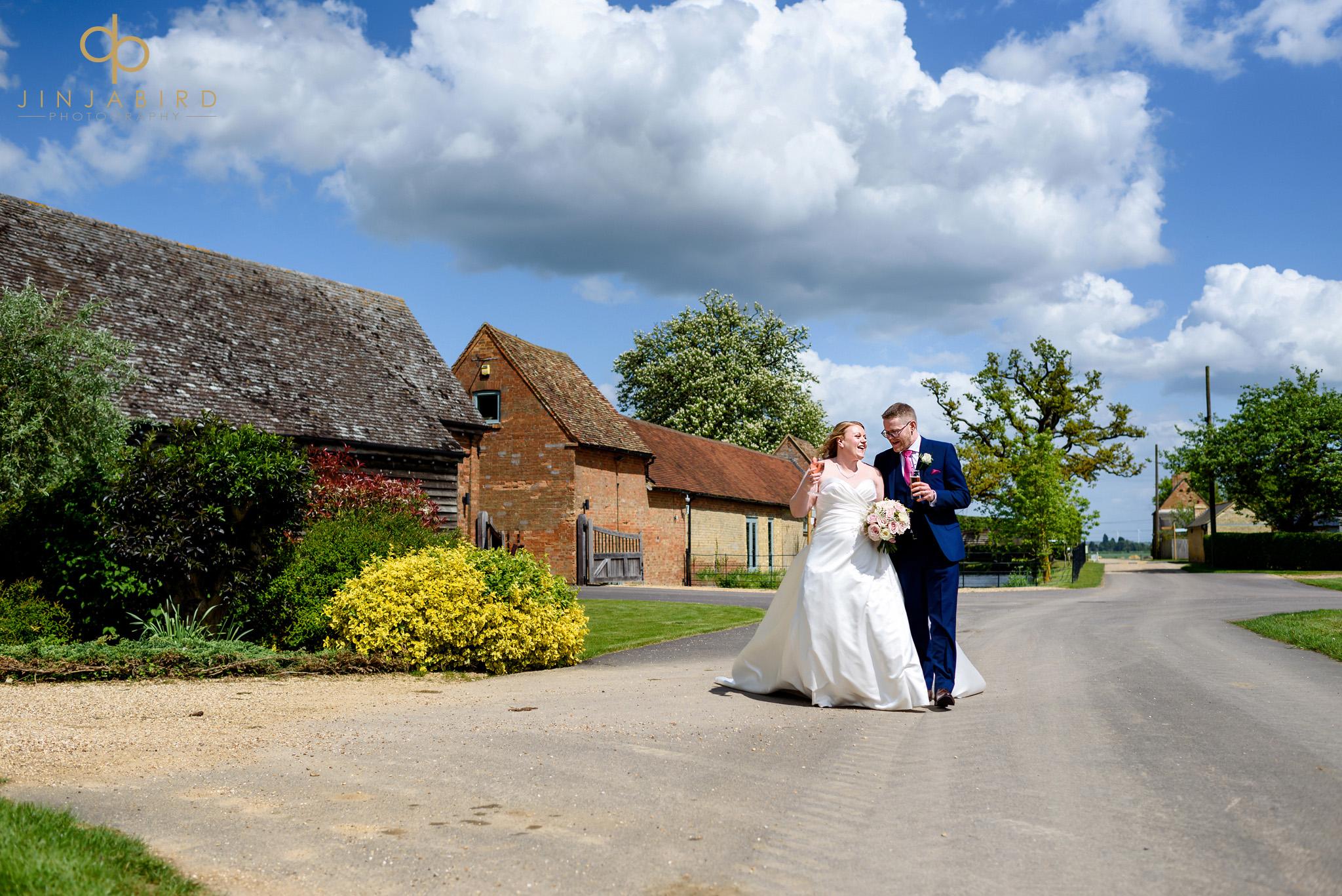 summer wedding bassmead manor