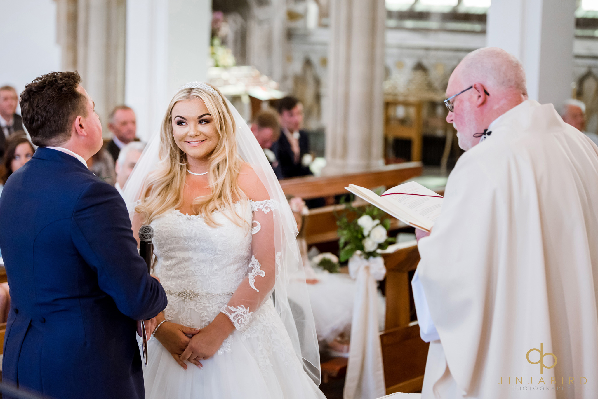 wedding at st-josephs church gerrards cross