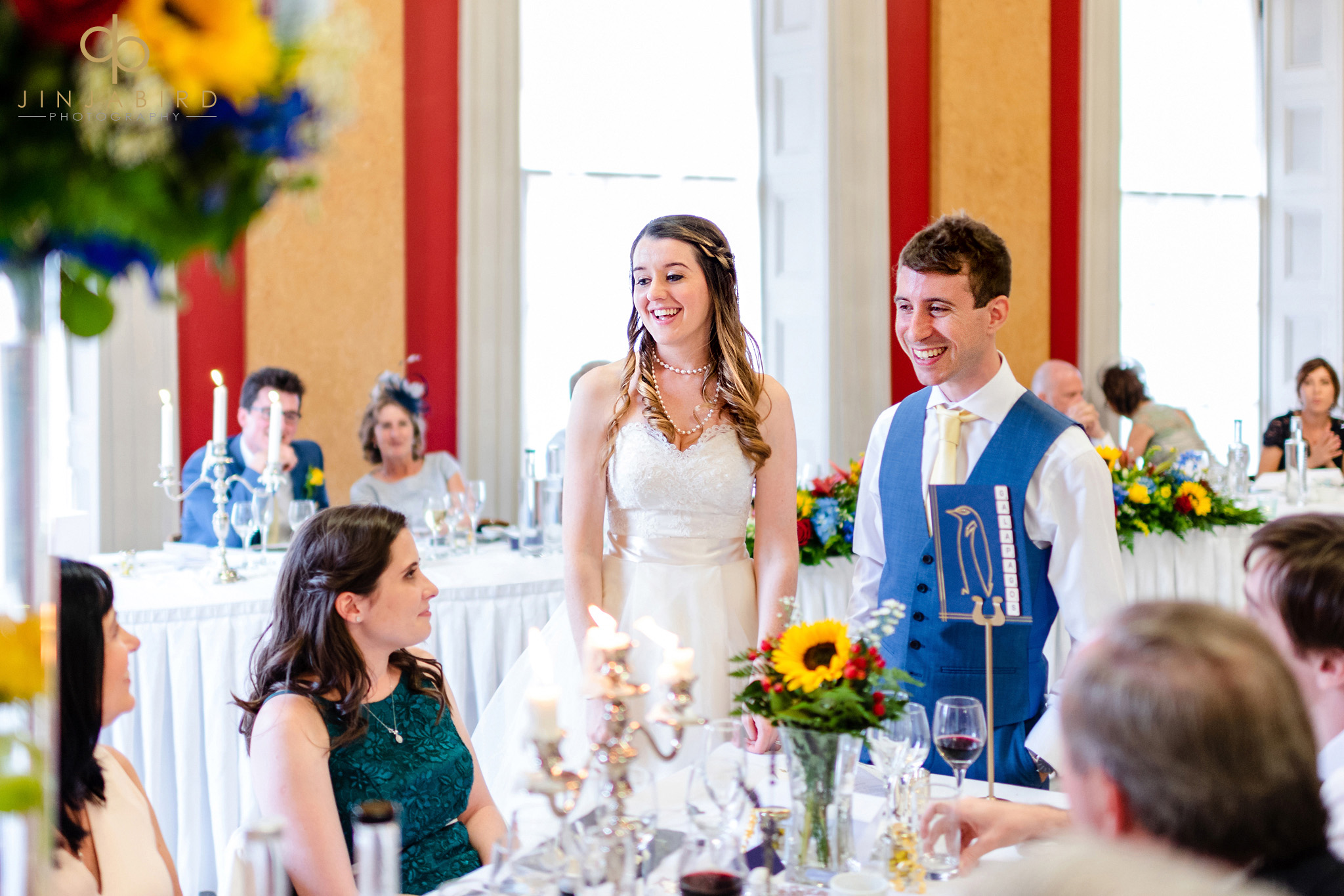 wedding breakfast downing college