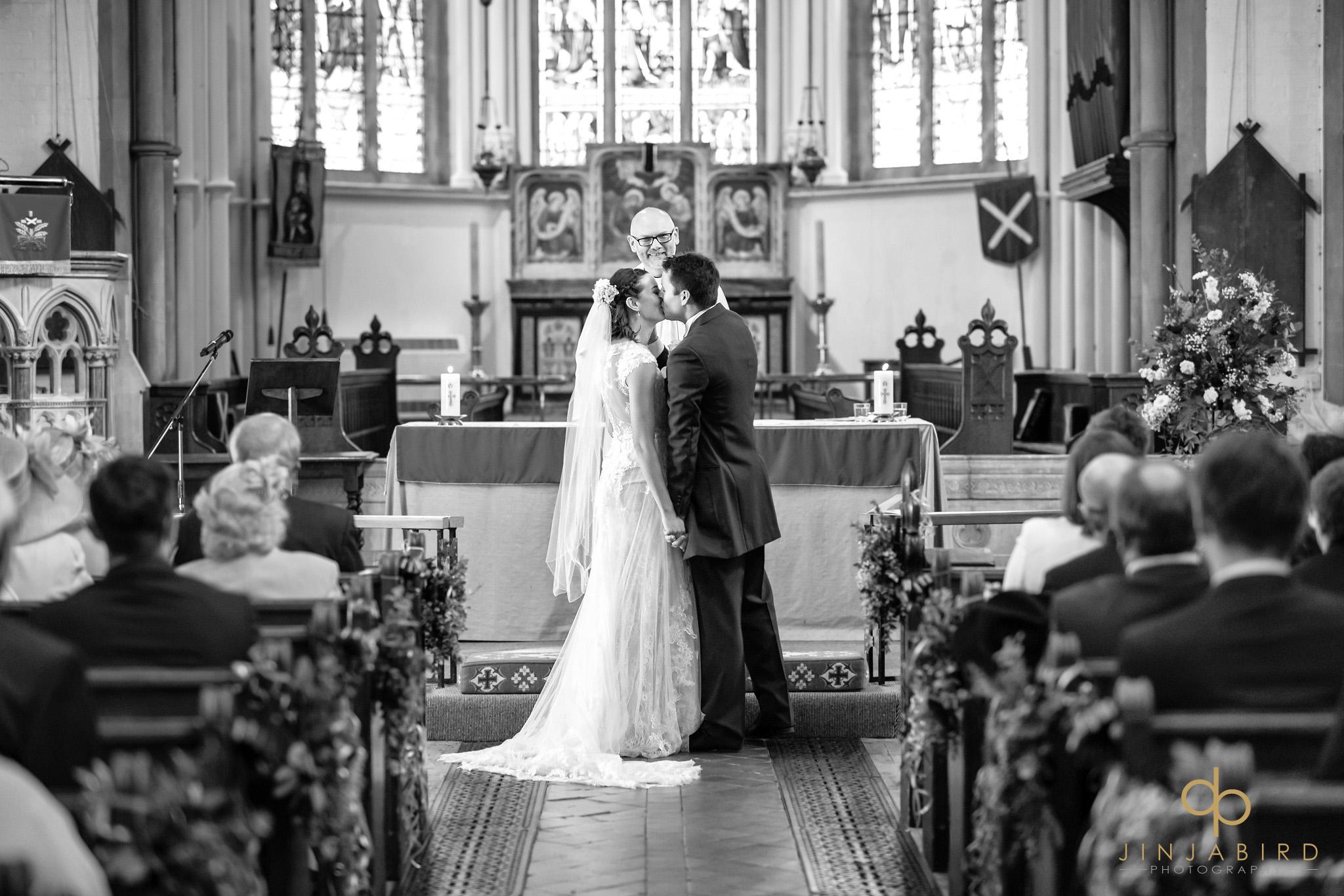 wedding ceremony st-andrews hertford