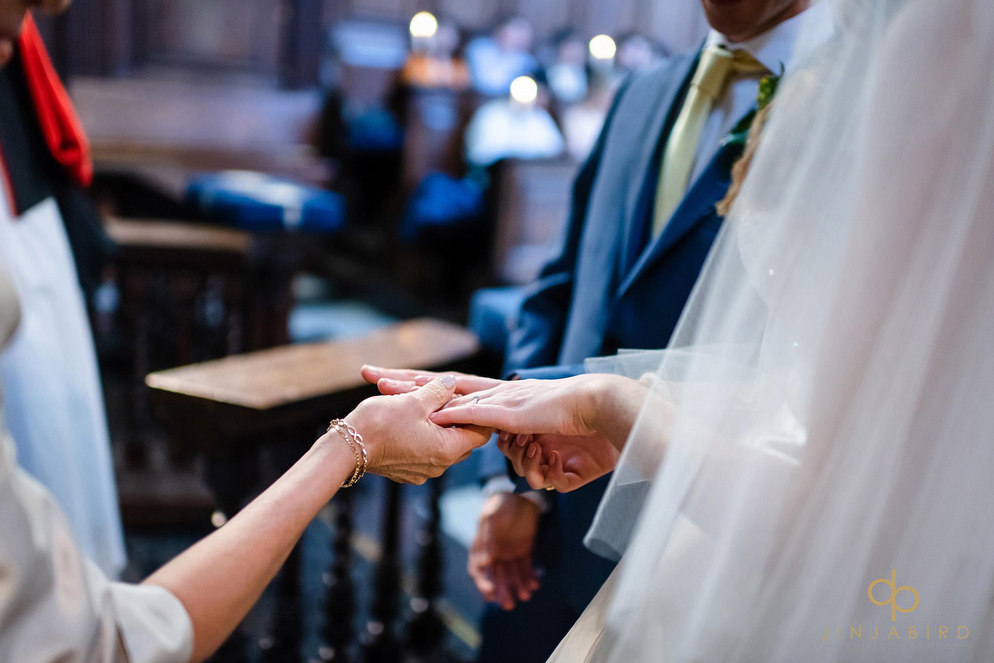 wedding ceremony christs college cambridge