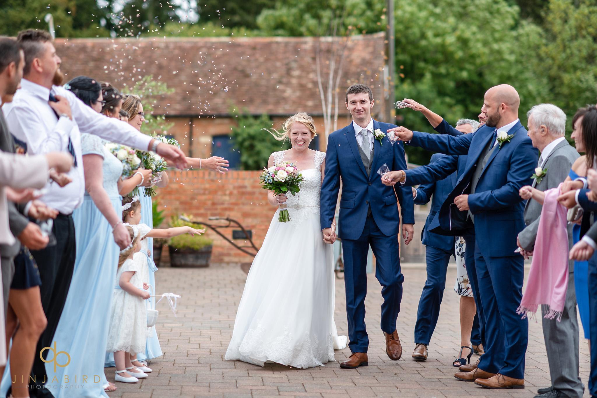 wedding confetti bassmead manor