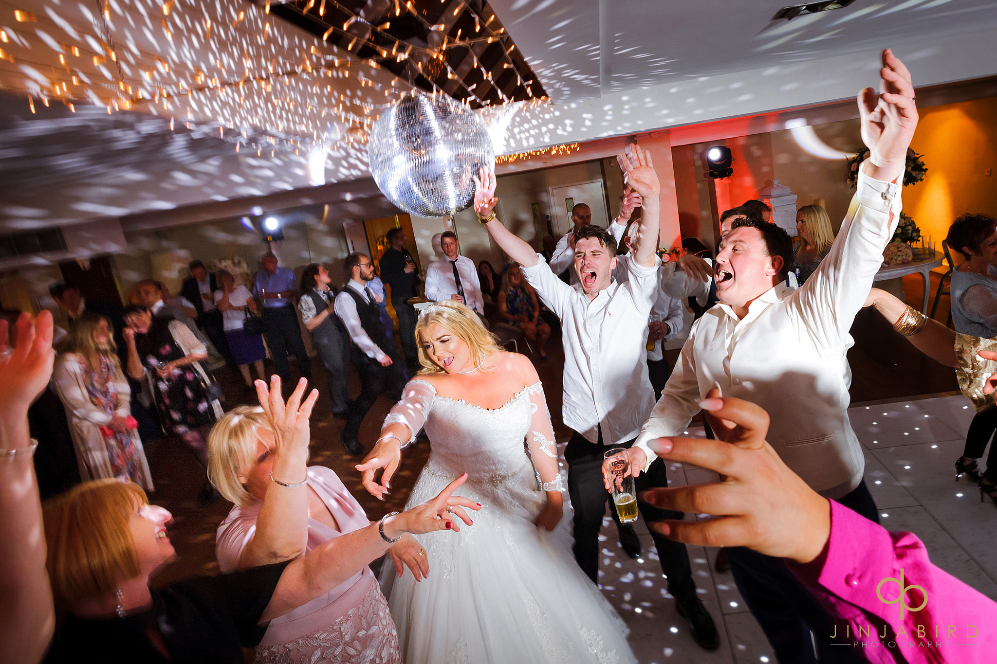 wedding disco stoke place