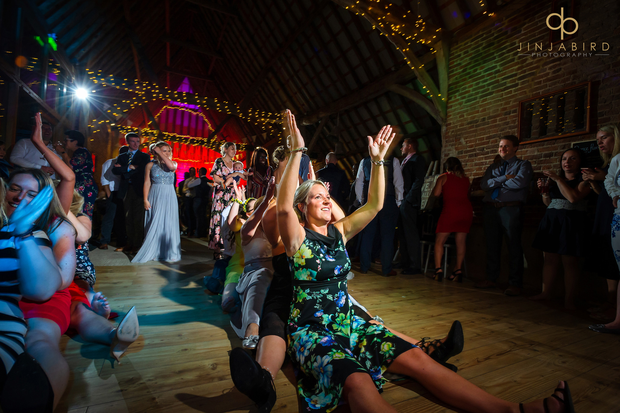 wedding disco thatch barn
