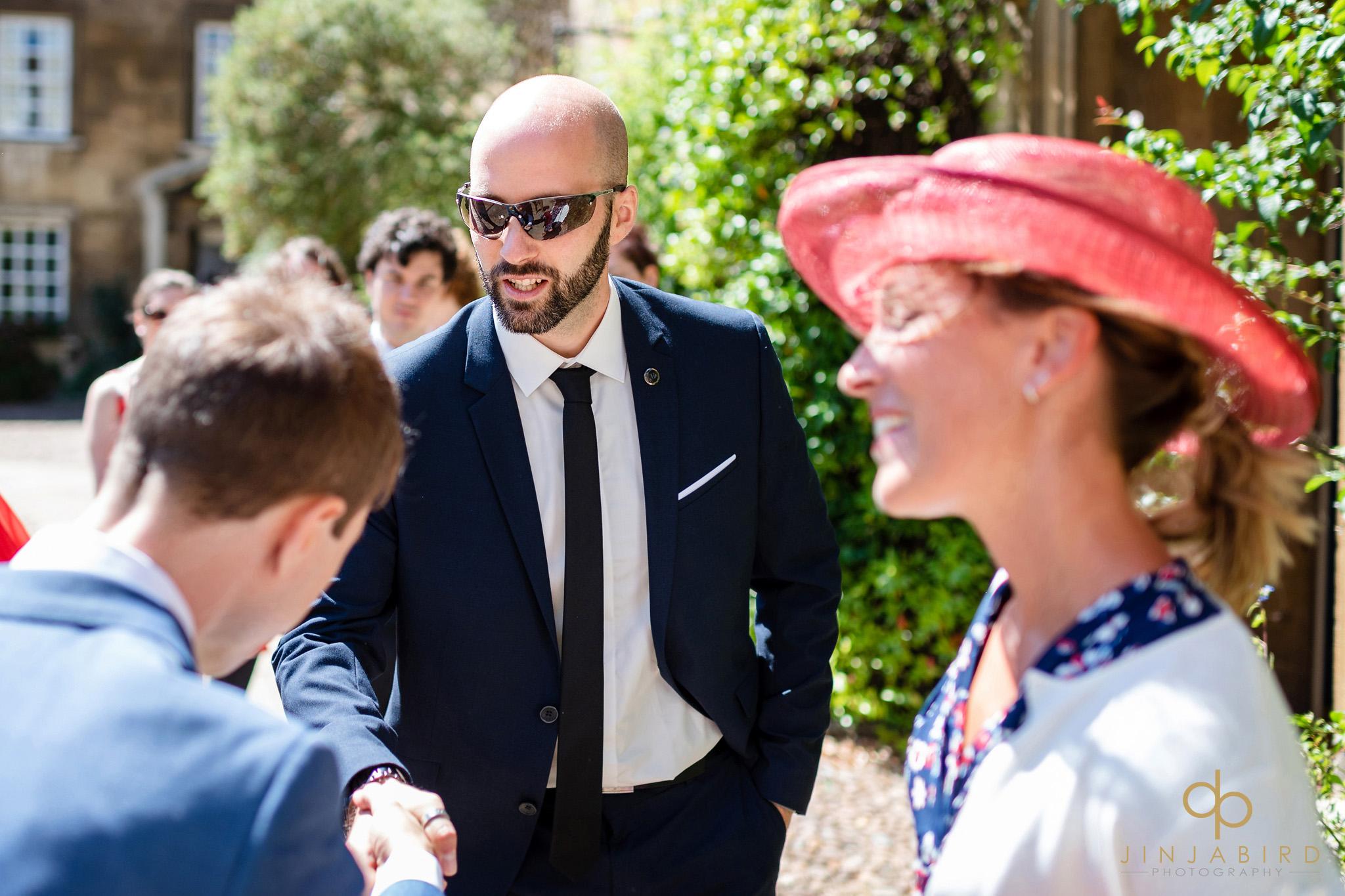 wedding photos christs college