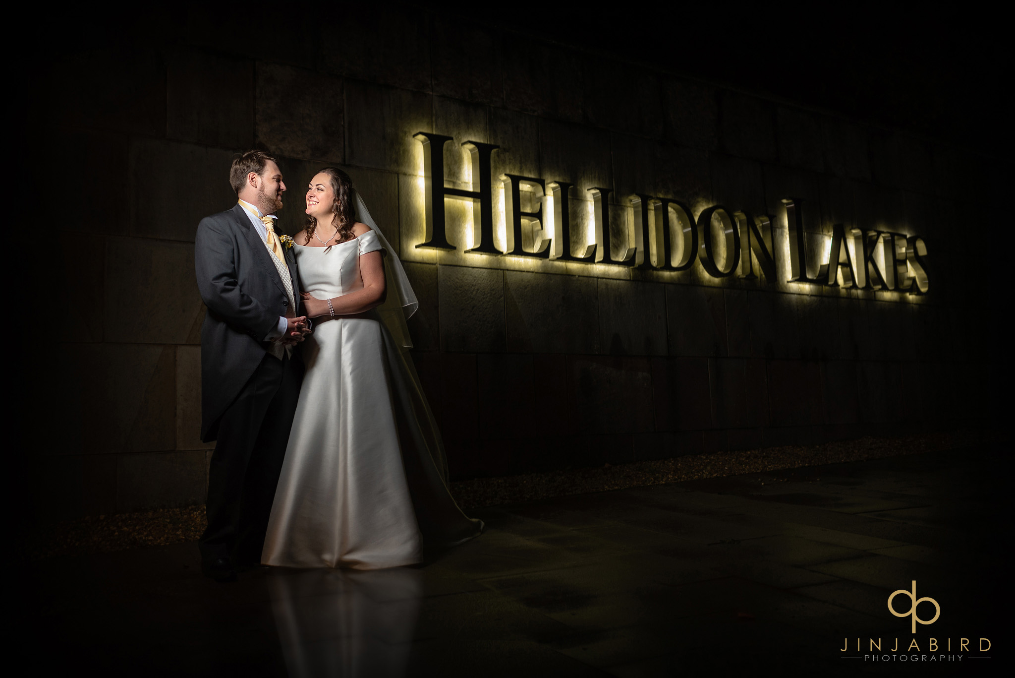 wedding photographer hellidon lakes