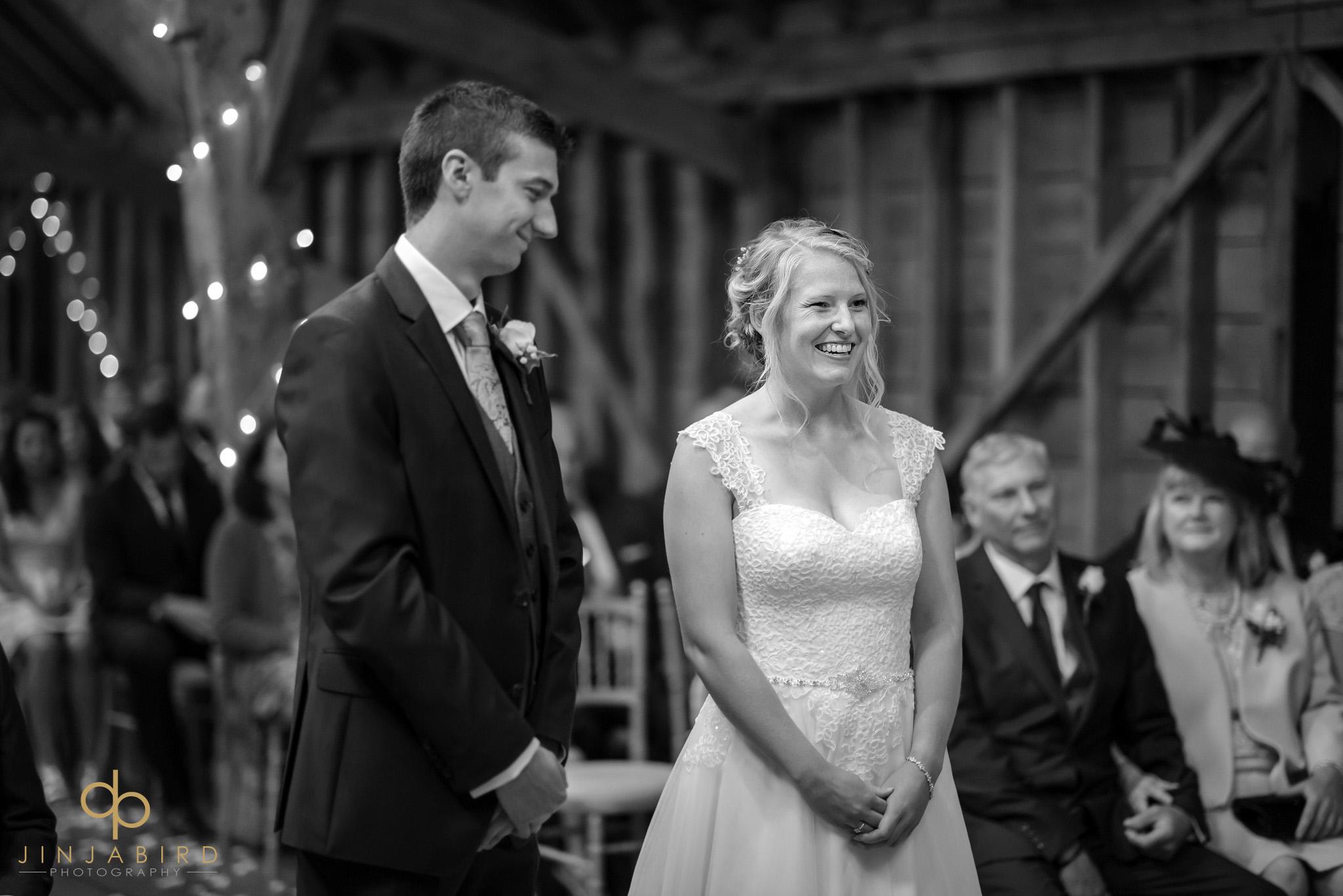 wedding service bassmead manor