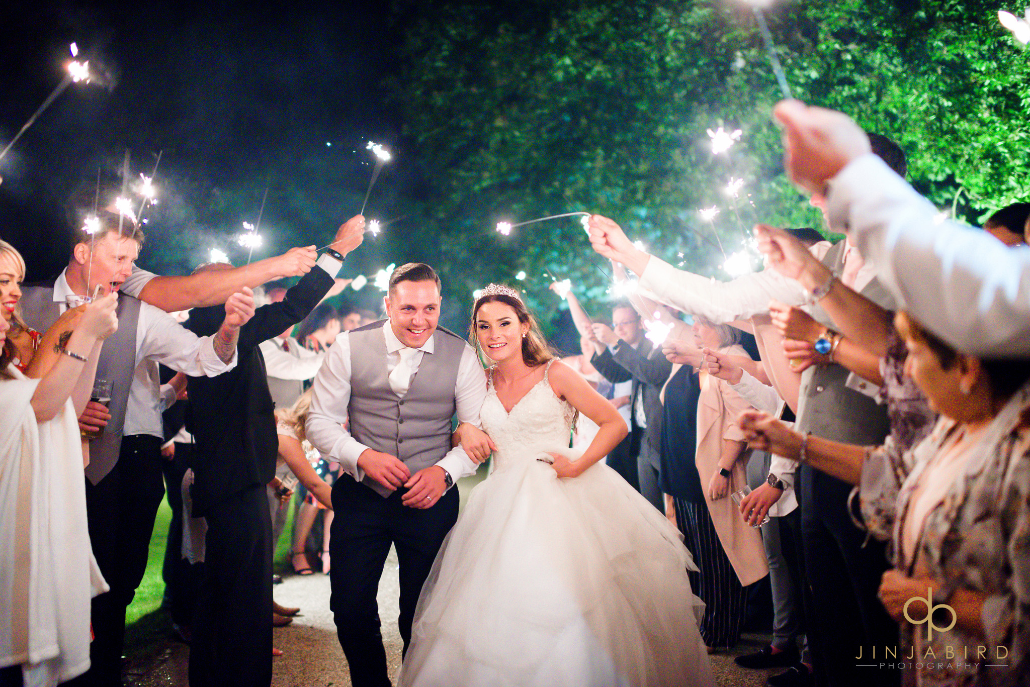 wedding sparklers bassmead manor