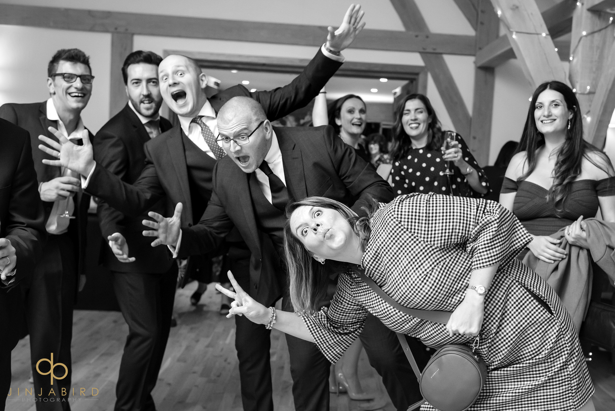 crazy wedding guests